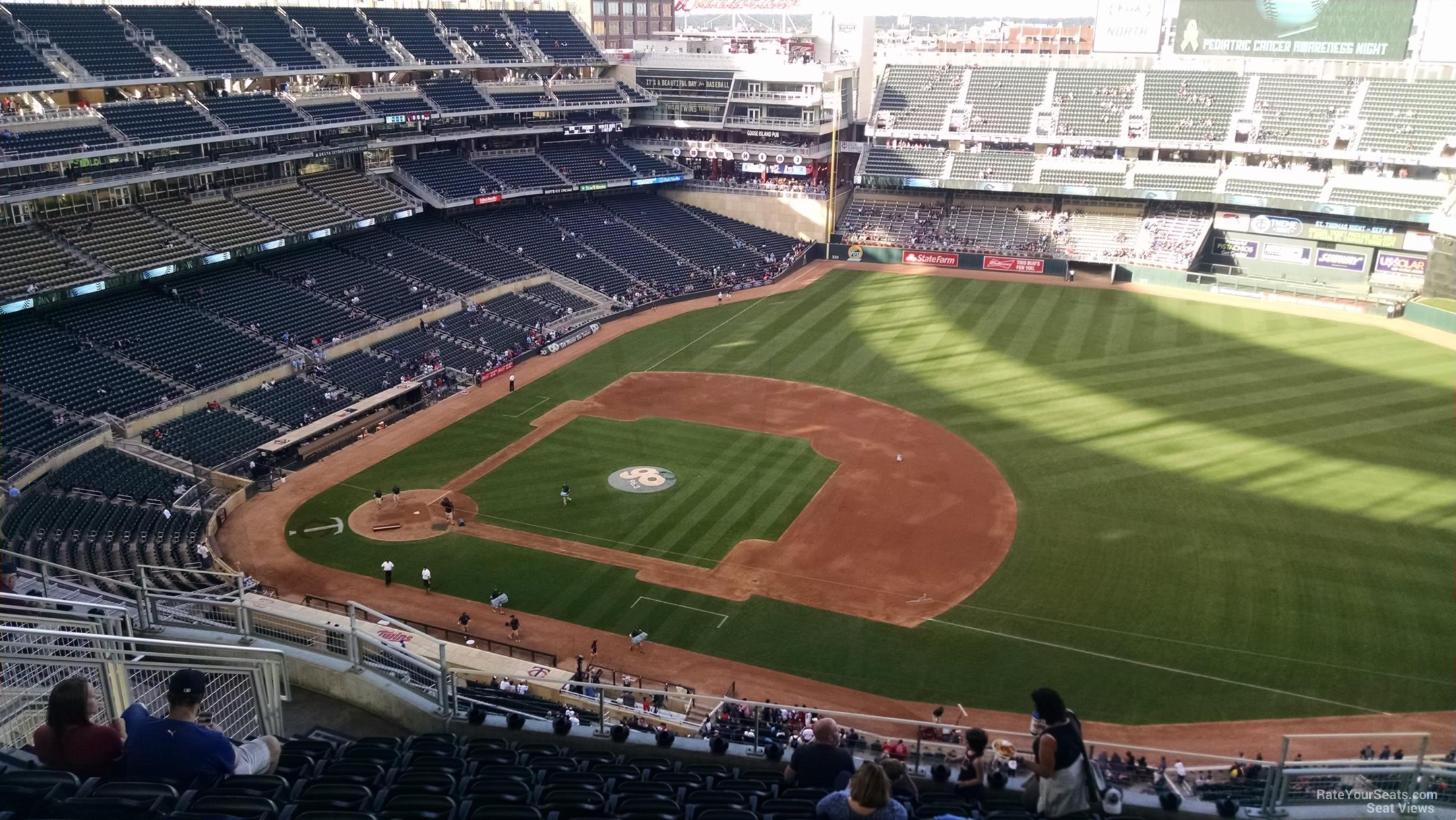 Target Field Section 307 - RateYourSeats.com