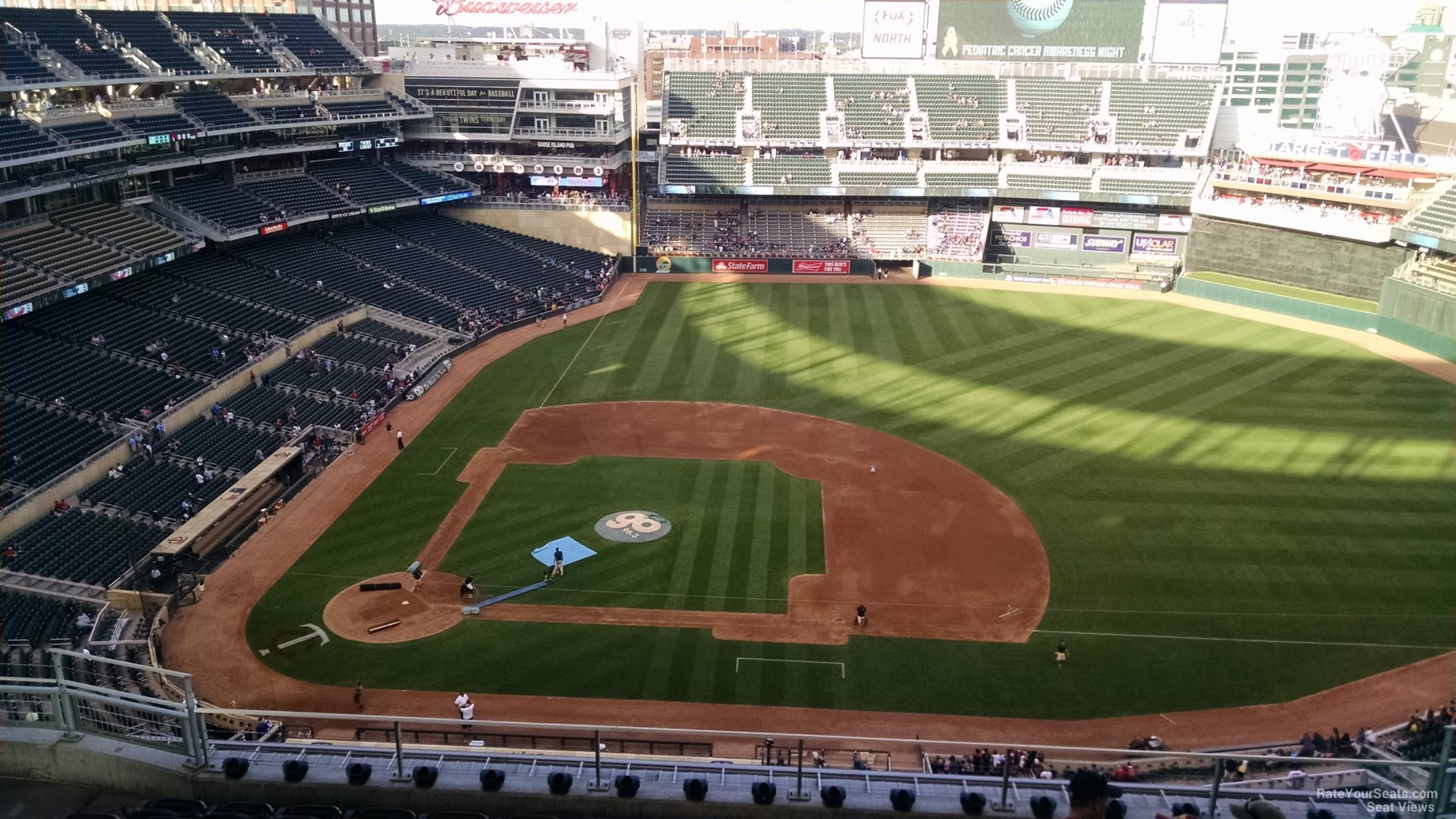 Target Field Section 309 Rateyourseats Com