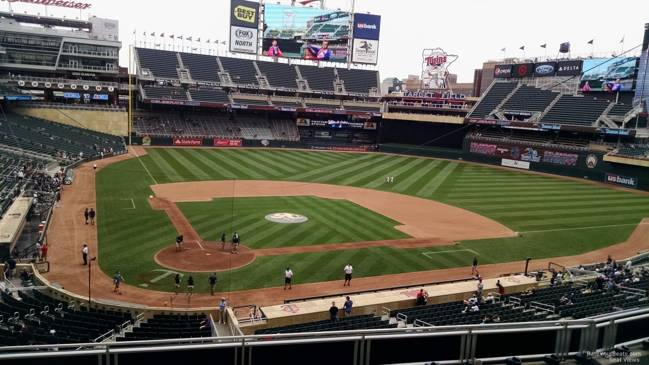 Target Field Section E Rateyourseats Com