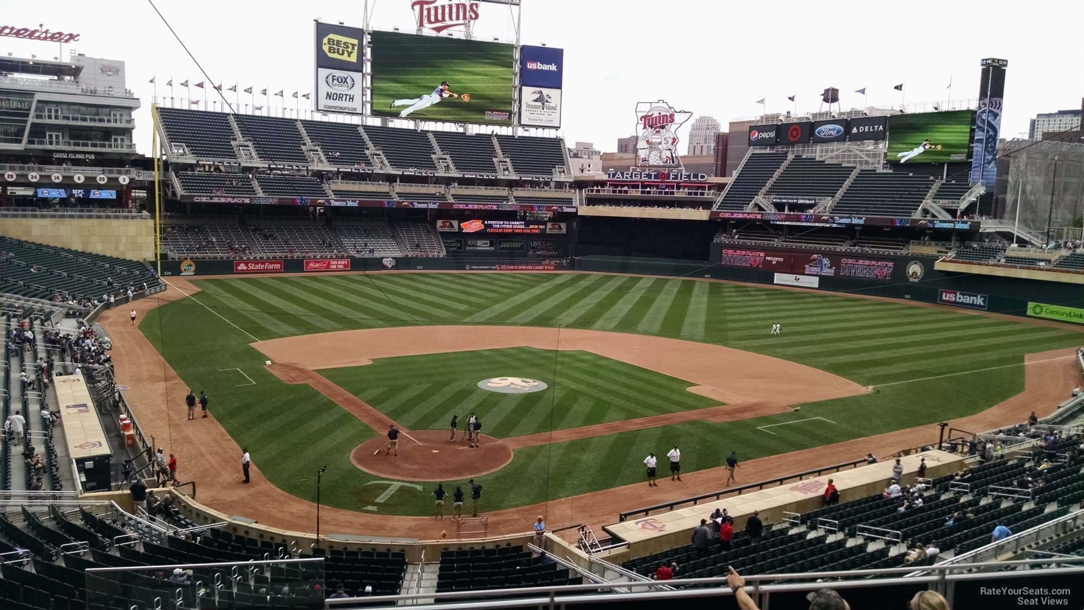 Target Field Section F - RateYourSeats.com