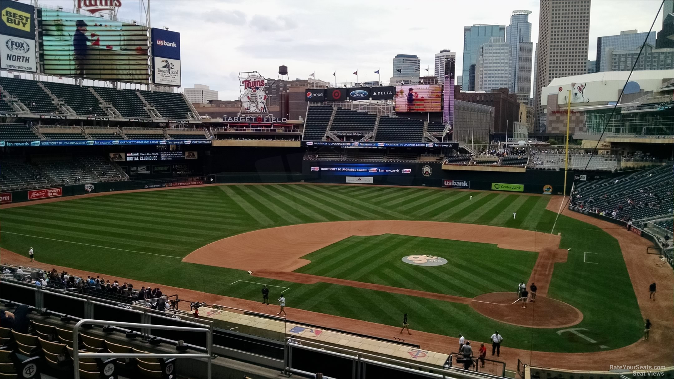 Target Field Section L Rateyourseats Com