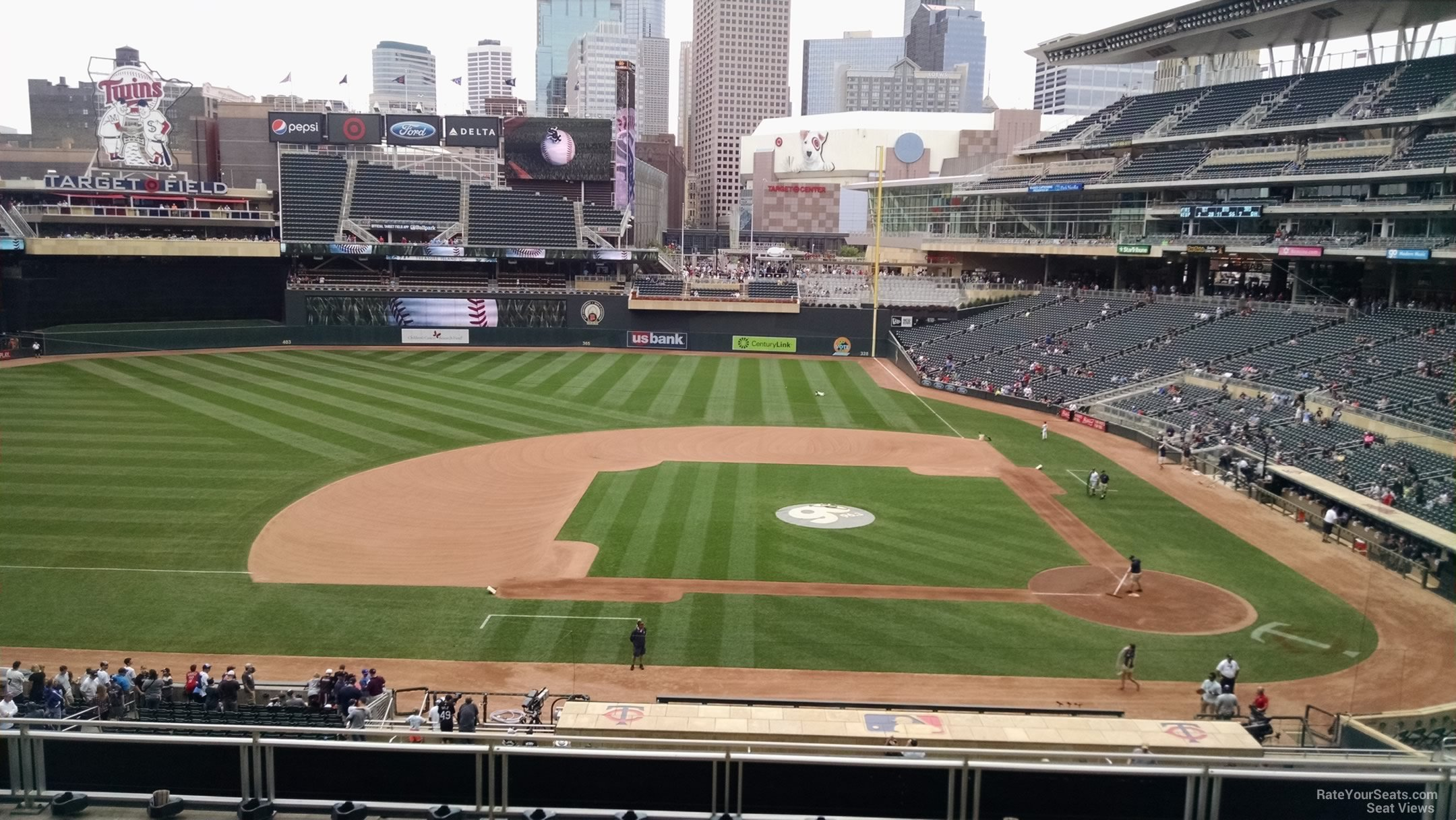 Target Field Section N - RateYourSeats.com