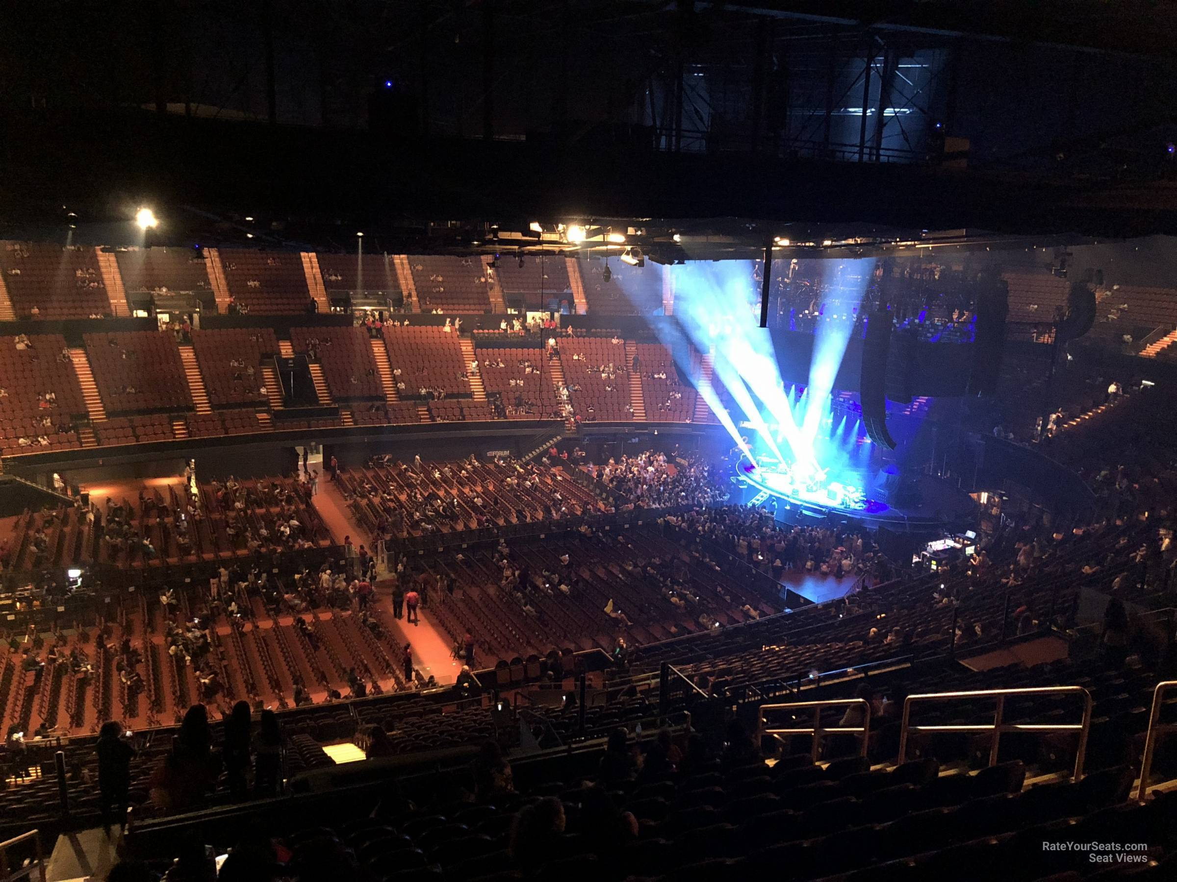 Section 208 At The Forum Rateyourseats Com