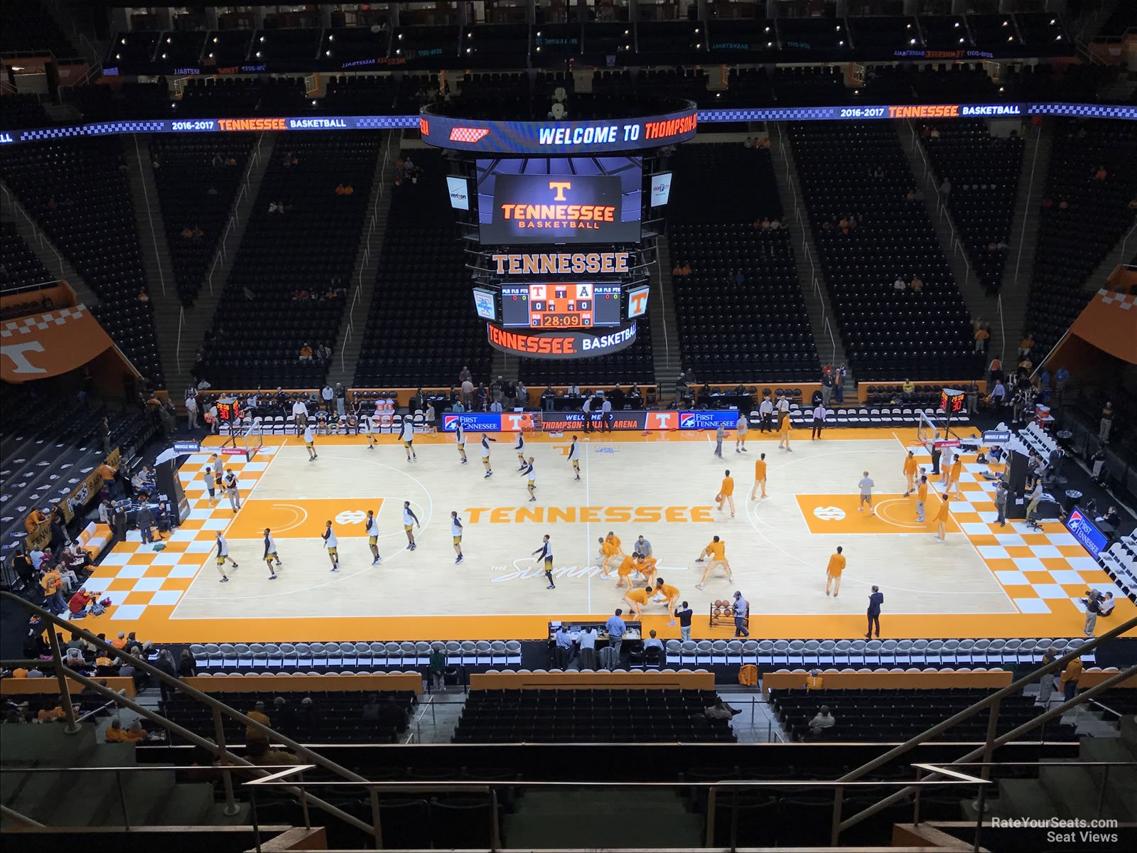 Thompson Boling Arena Section 321 Rateyourseats Com