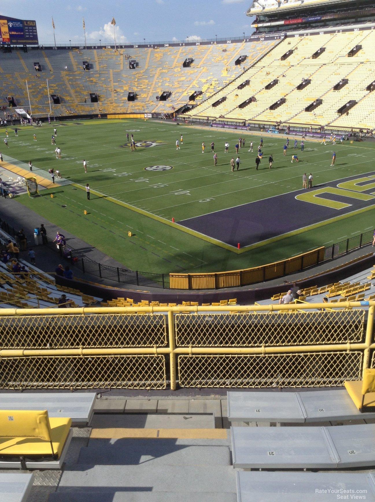 Tiger Stadium Section 420 Rateyourseats Com
