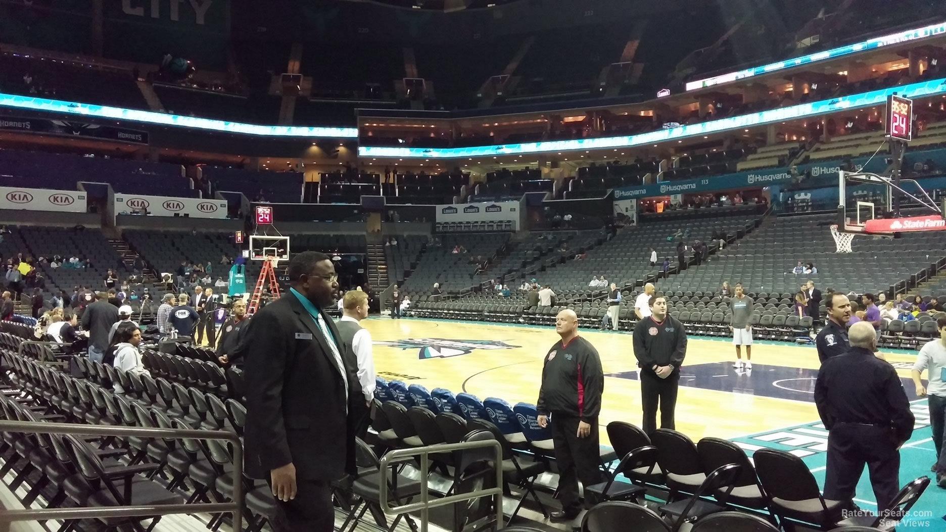 Spectrum Center Section 103 Charlotte Hornets