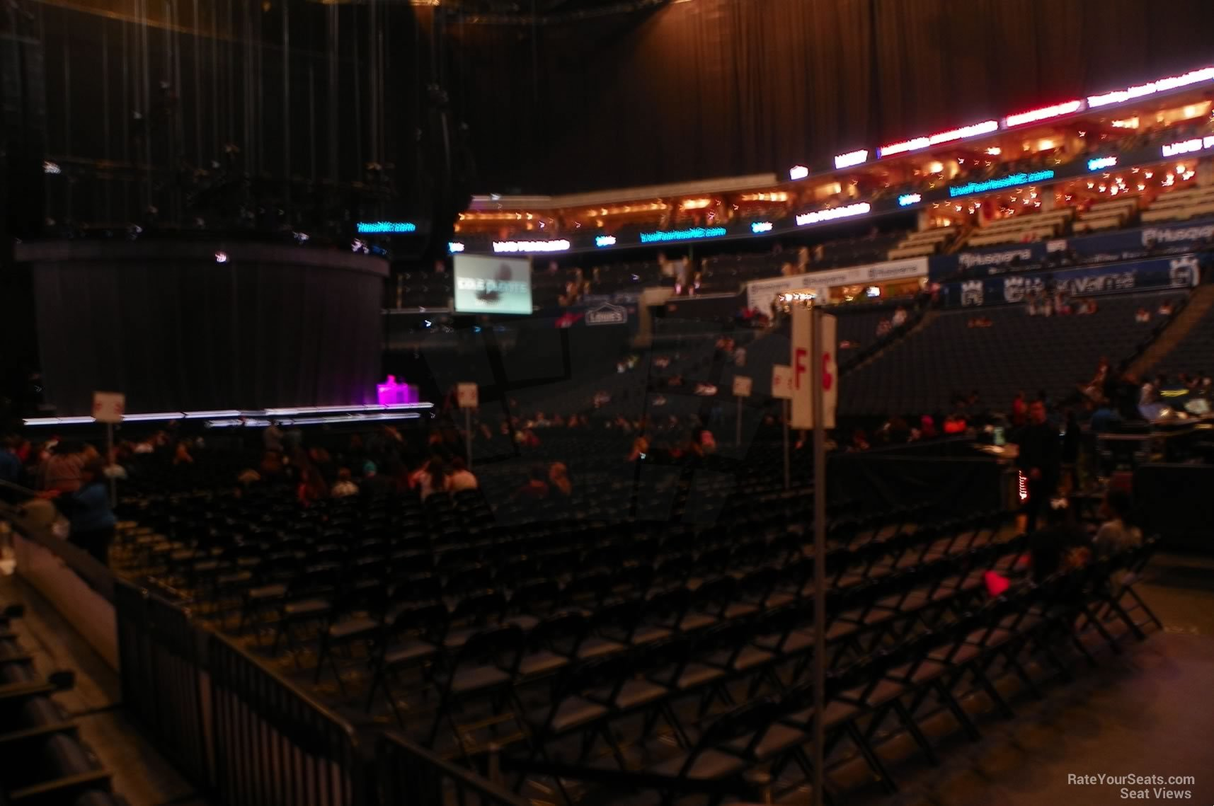 Section 104 seat view