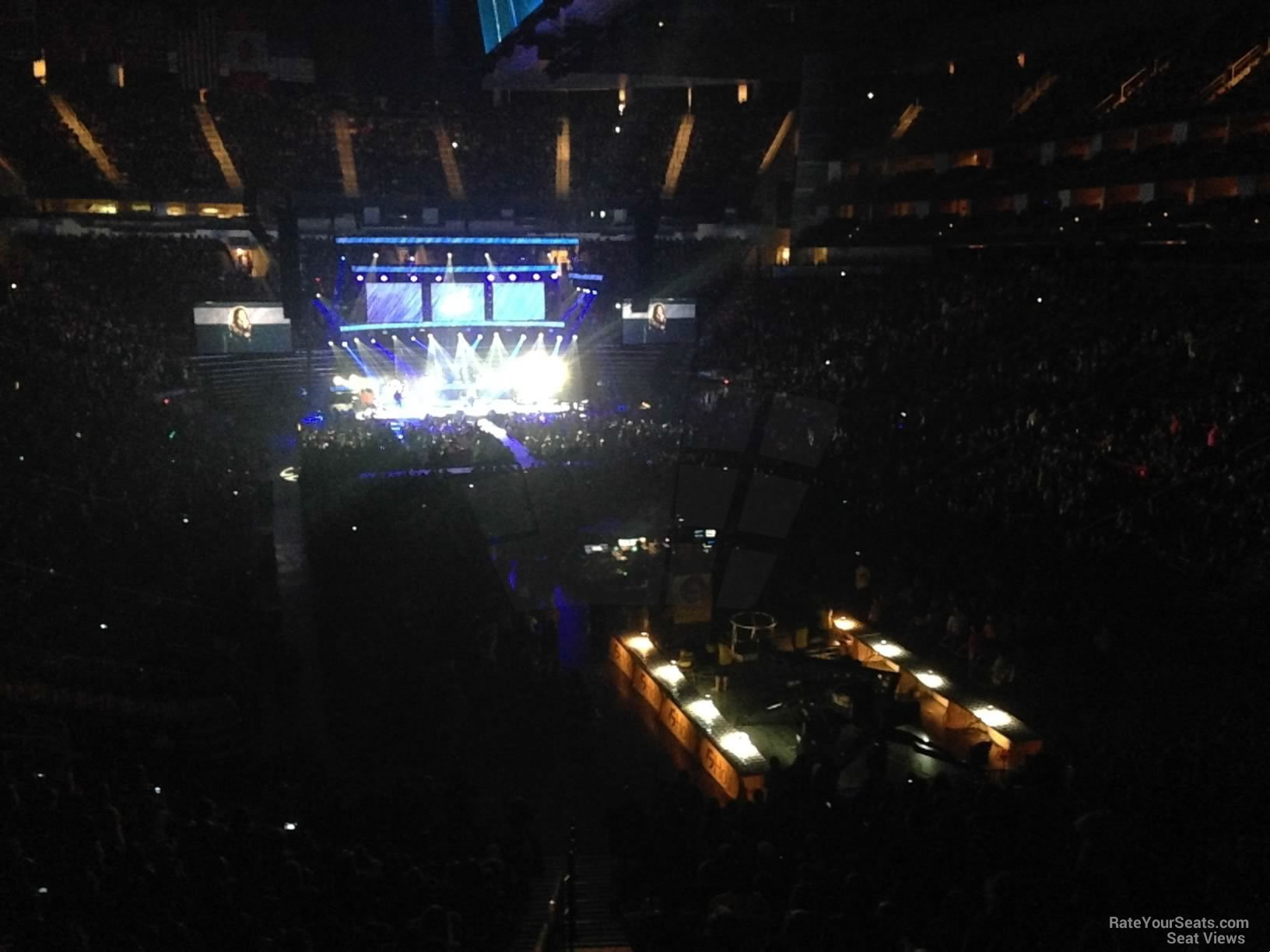Toyota Center Section 114 Concert Seating Rateyourseats Com