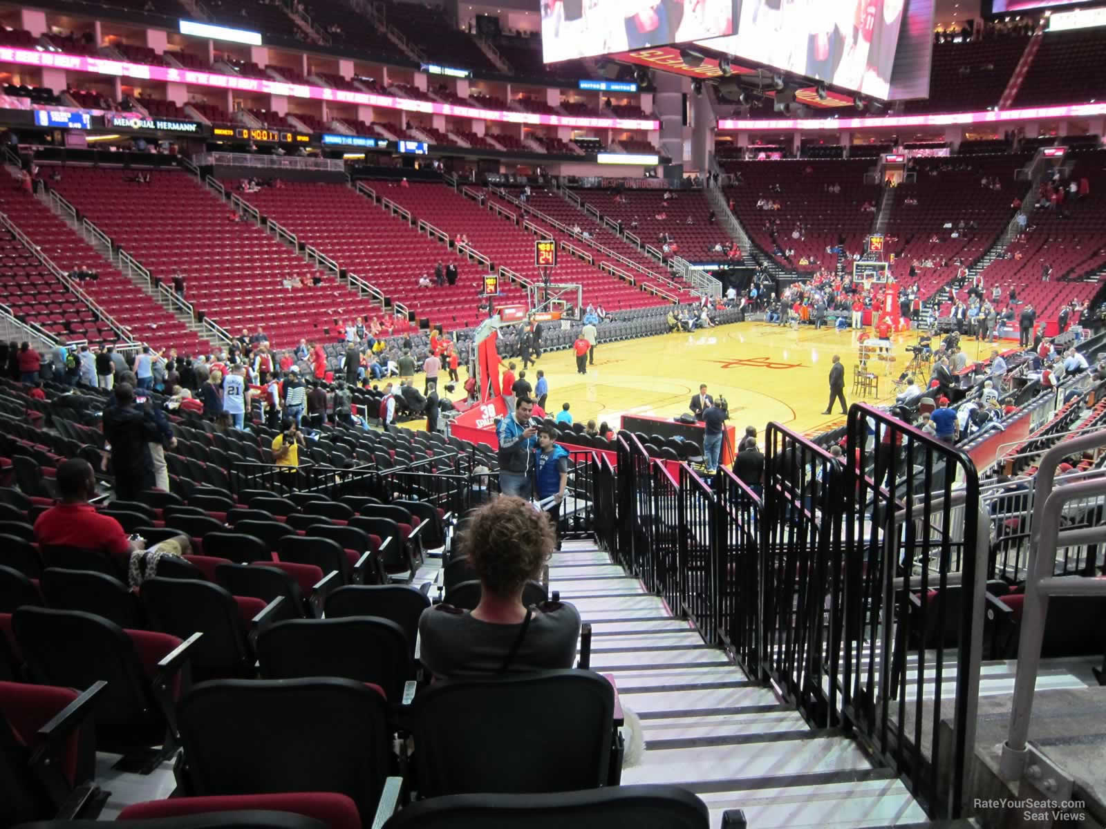 Seat View For Toyota Center Section 125, Row 15, ...