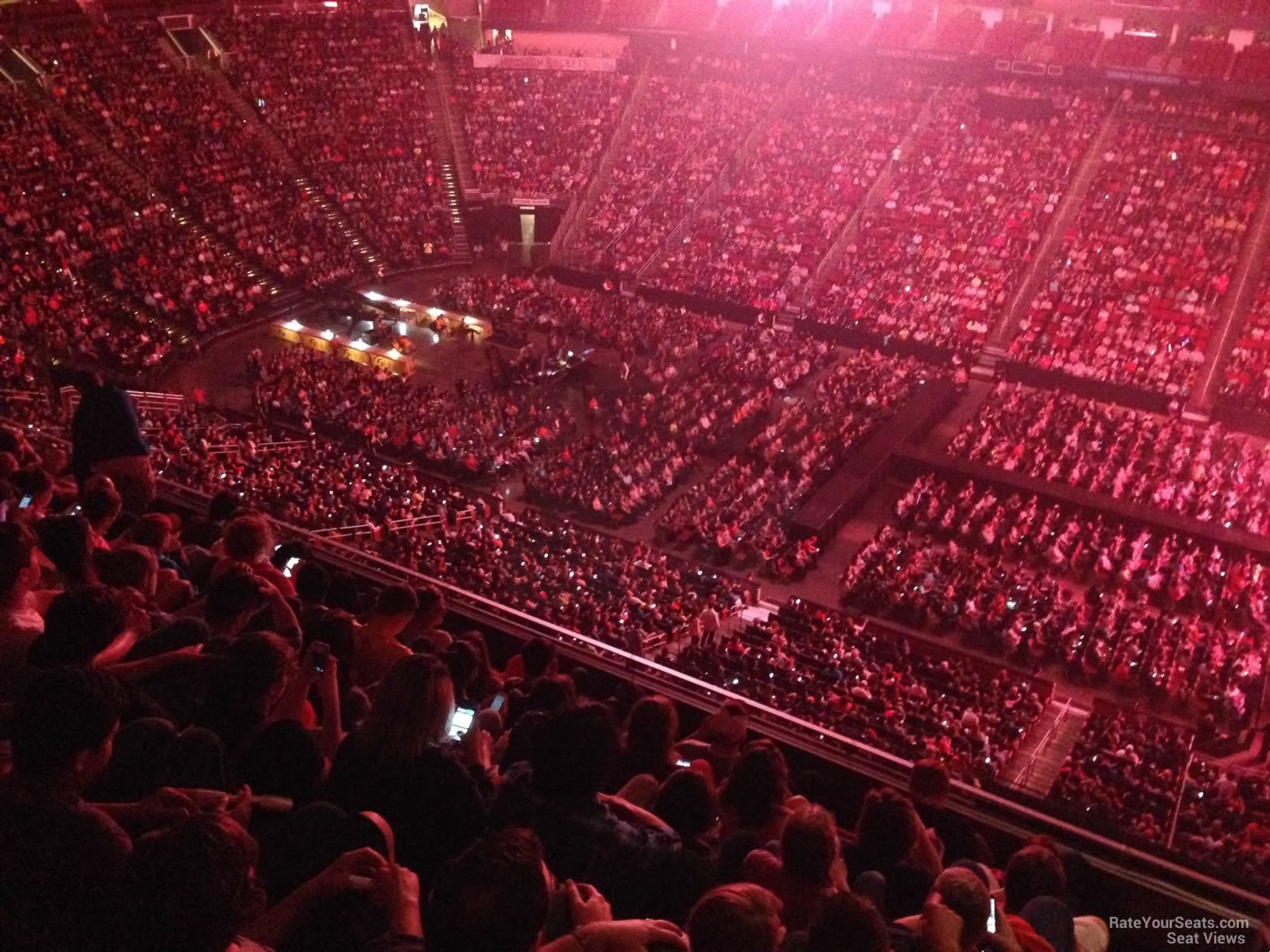 Concert Seat View For Toyota Center Section 408 ...