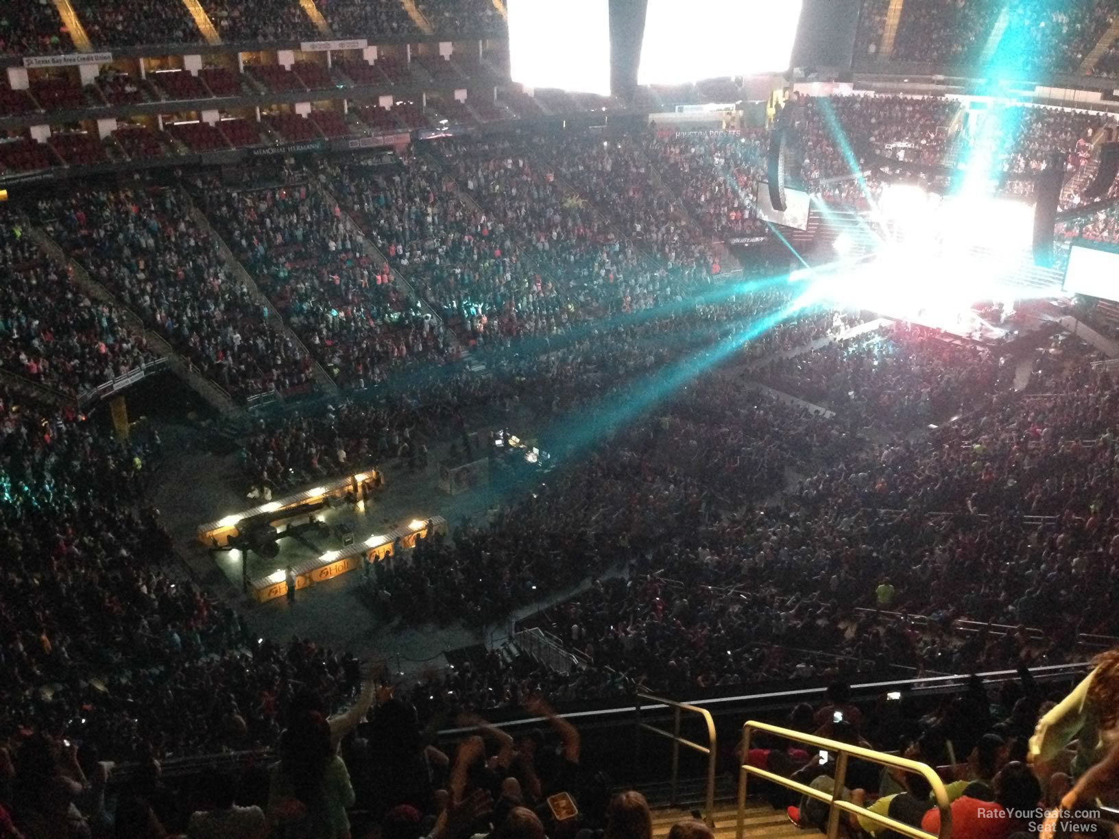 Toyota Center Section 414 Concert Seating Rateyourseats Com