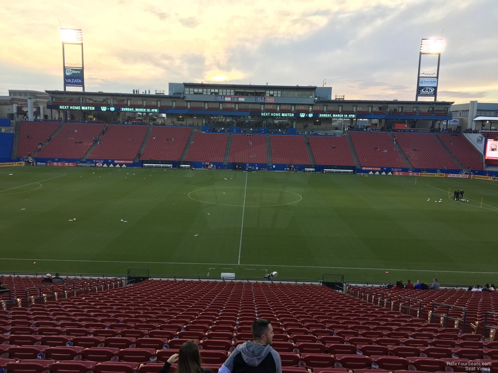 Section 127 seat view