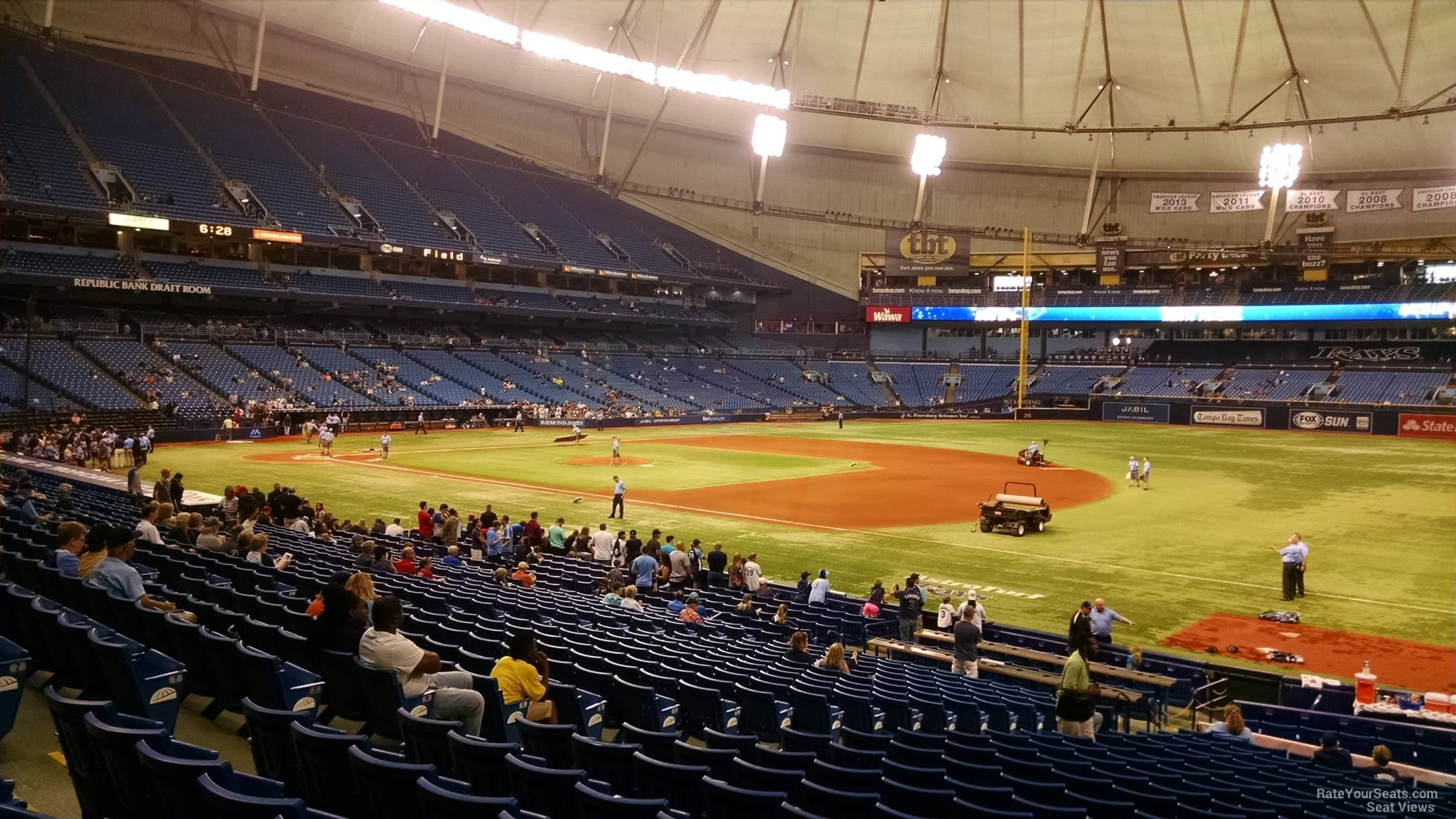 Tropicana Field Section 128 Tampa Bay Rays