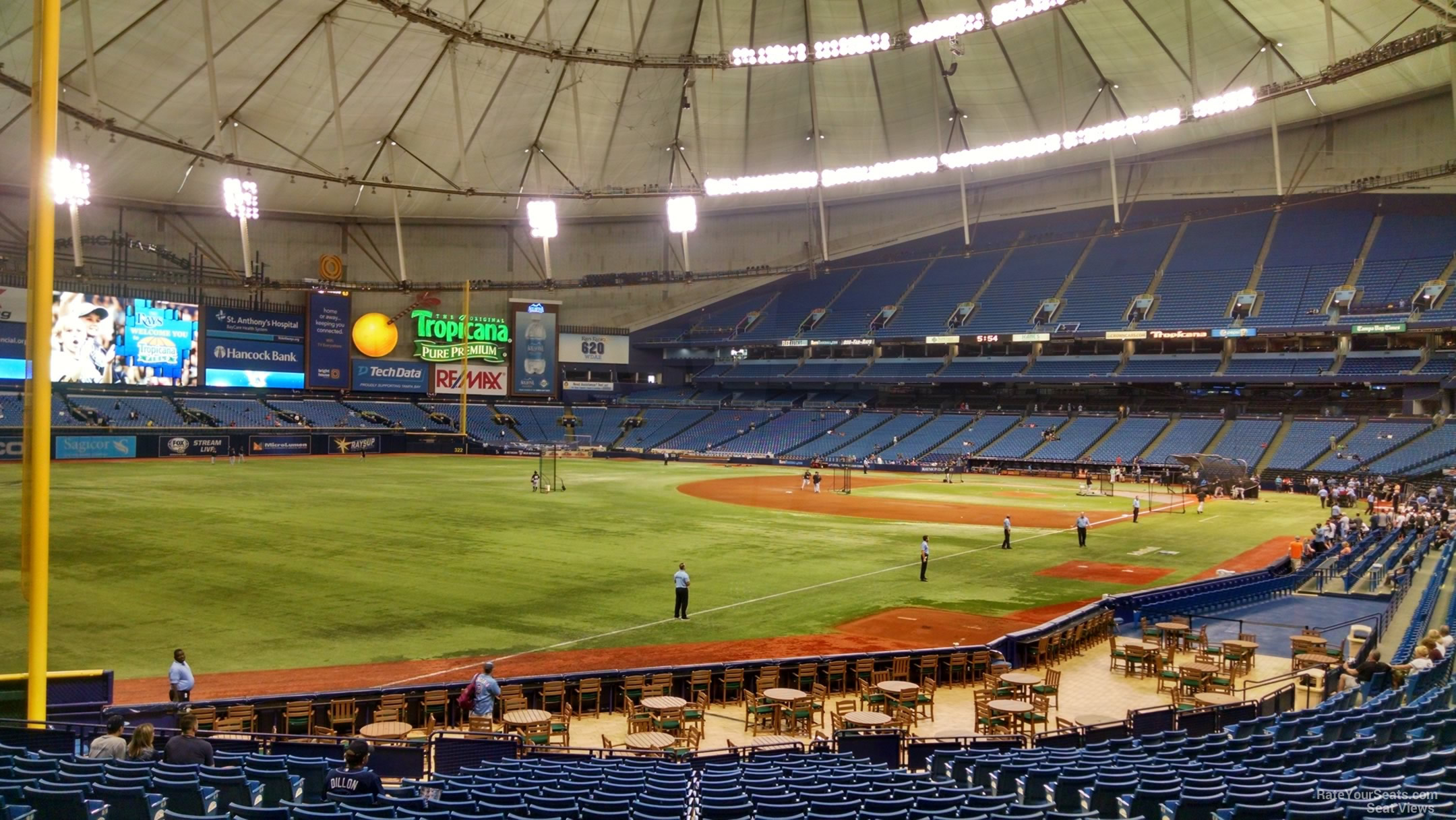 Section 135 Tampa Bay Rays