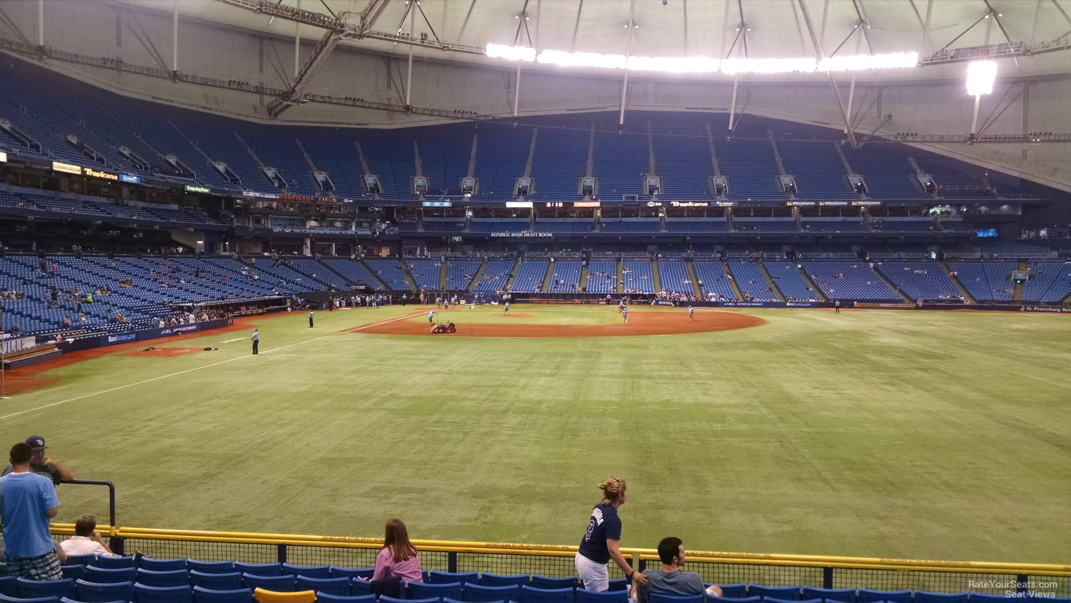 Tropicana Field Section 144 - Tampa Bay Rays ...
