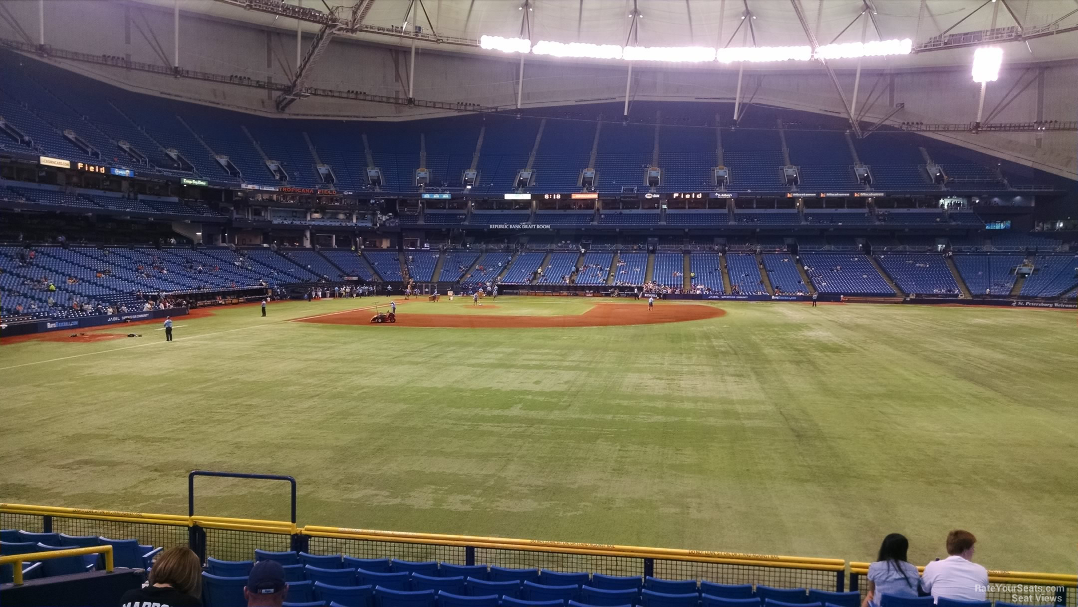 Tropicana Field Section 146 Tampa Bay Rays