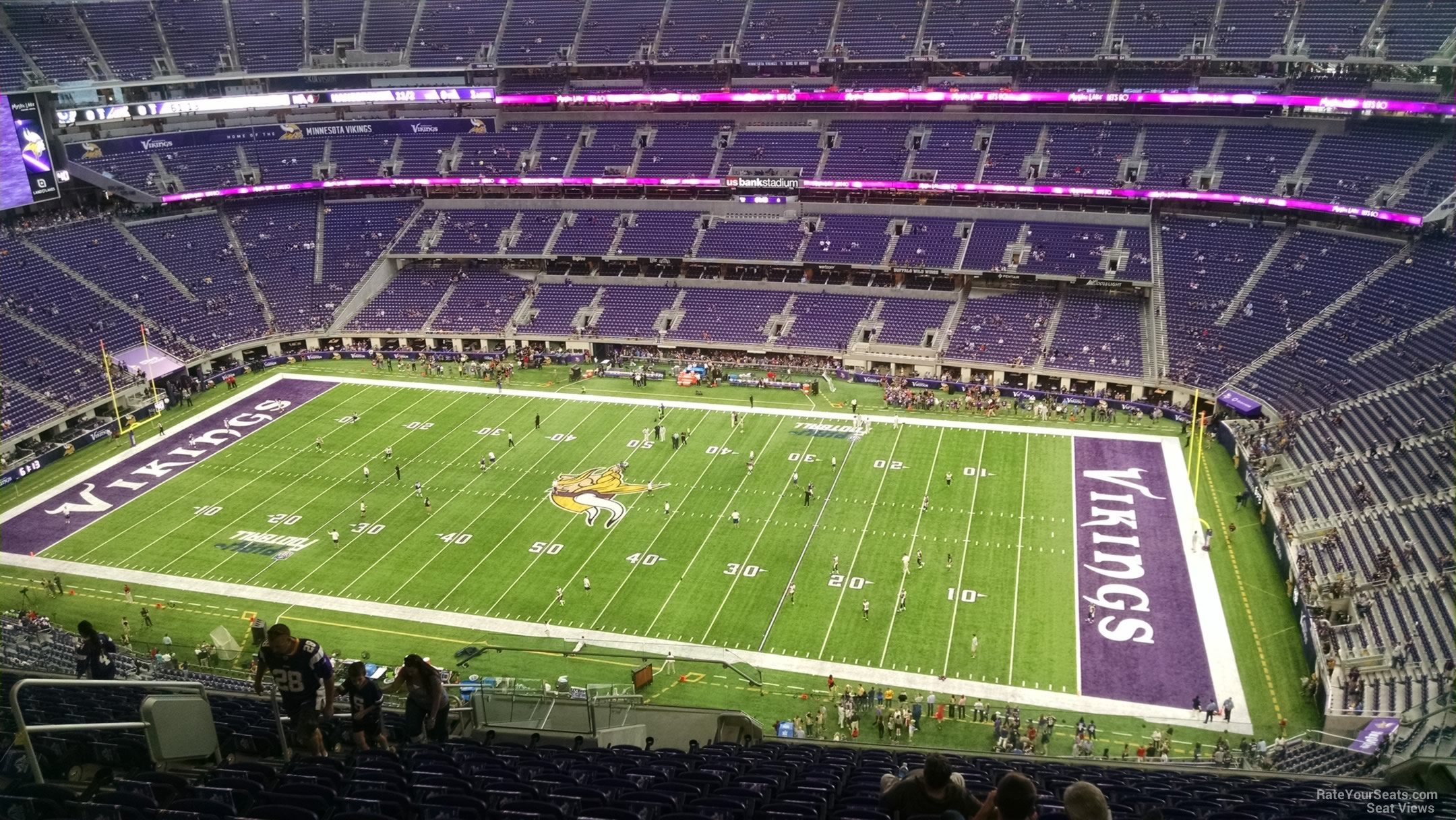 Minnesota Vikings Seat View For U S Bank Stadium Section 309