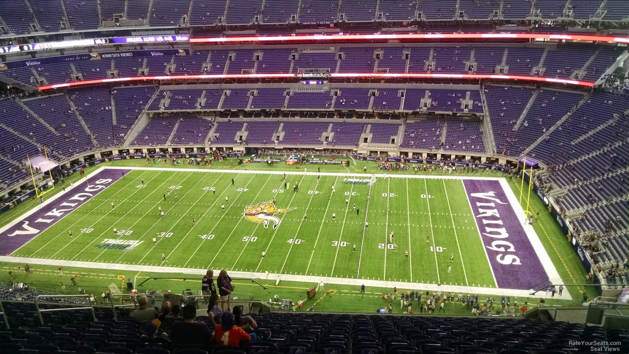 Minnesota Vikings Seat View For U S Bank Stadium Section 310