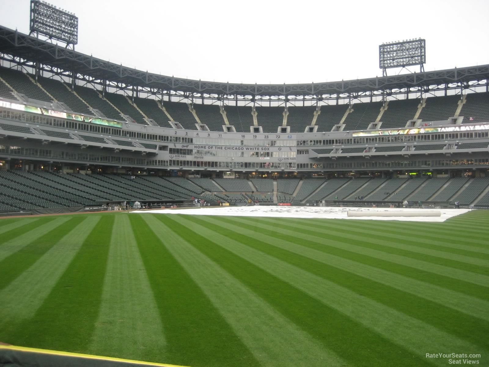 Seat View For Guaranteed Rate Field Section 102
