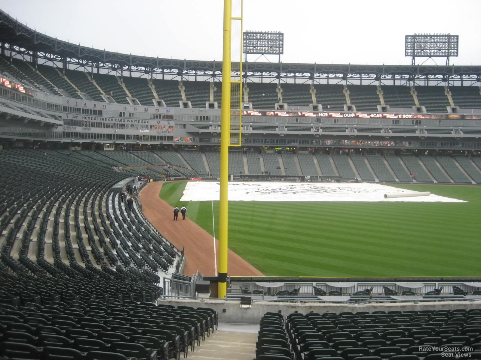 Guaranteed Rate Field Section RateYourSeatscom - Us cellular field seating map
