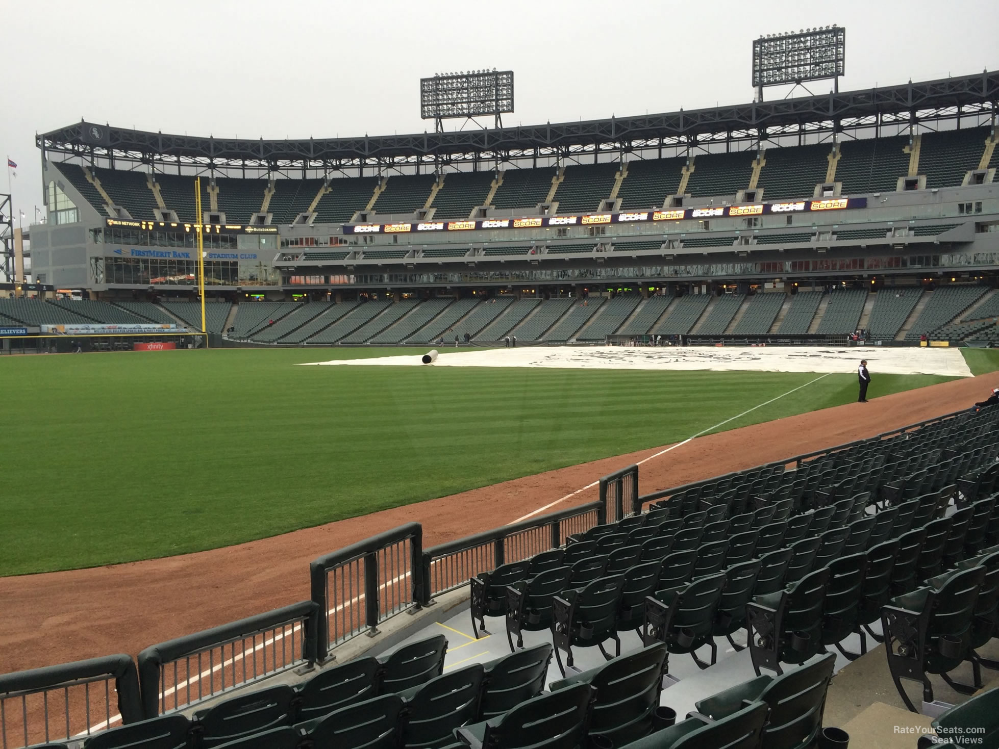 Guaranteed Rate Field Section RateYourSeatscom - Us cellular field view from seat
