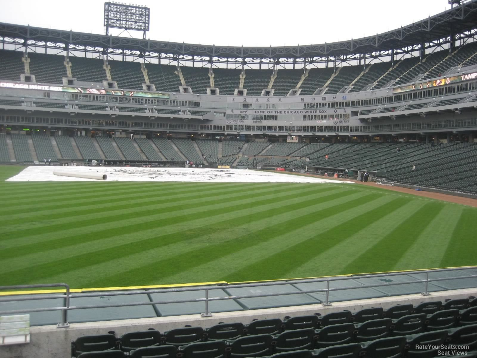 View From Section 159 Row 7 at US Cellular Field