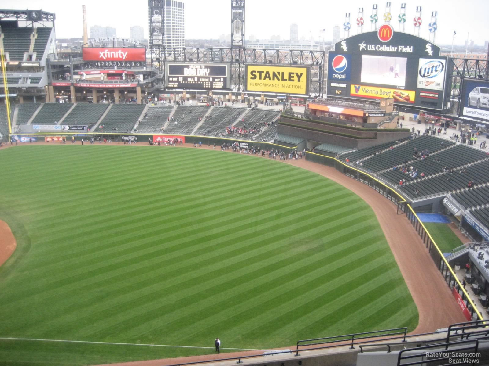 Guaranteed Rate Field Section RateYourSeatscom - Us cellular fields map
