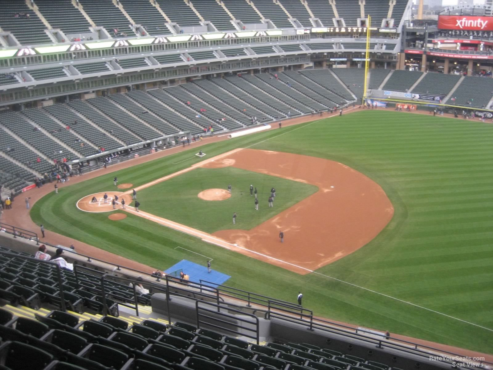 Guaranteed Rate Field Section 518 - RateYourSeats.com