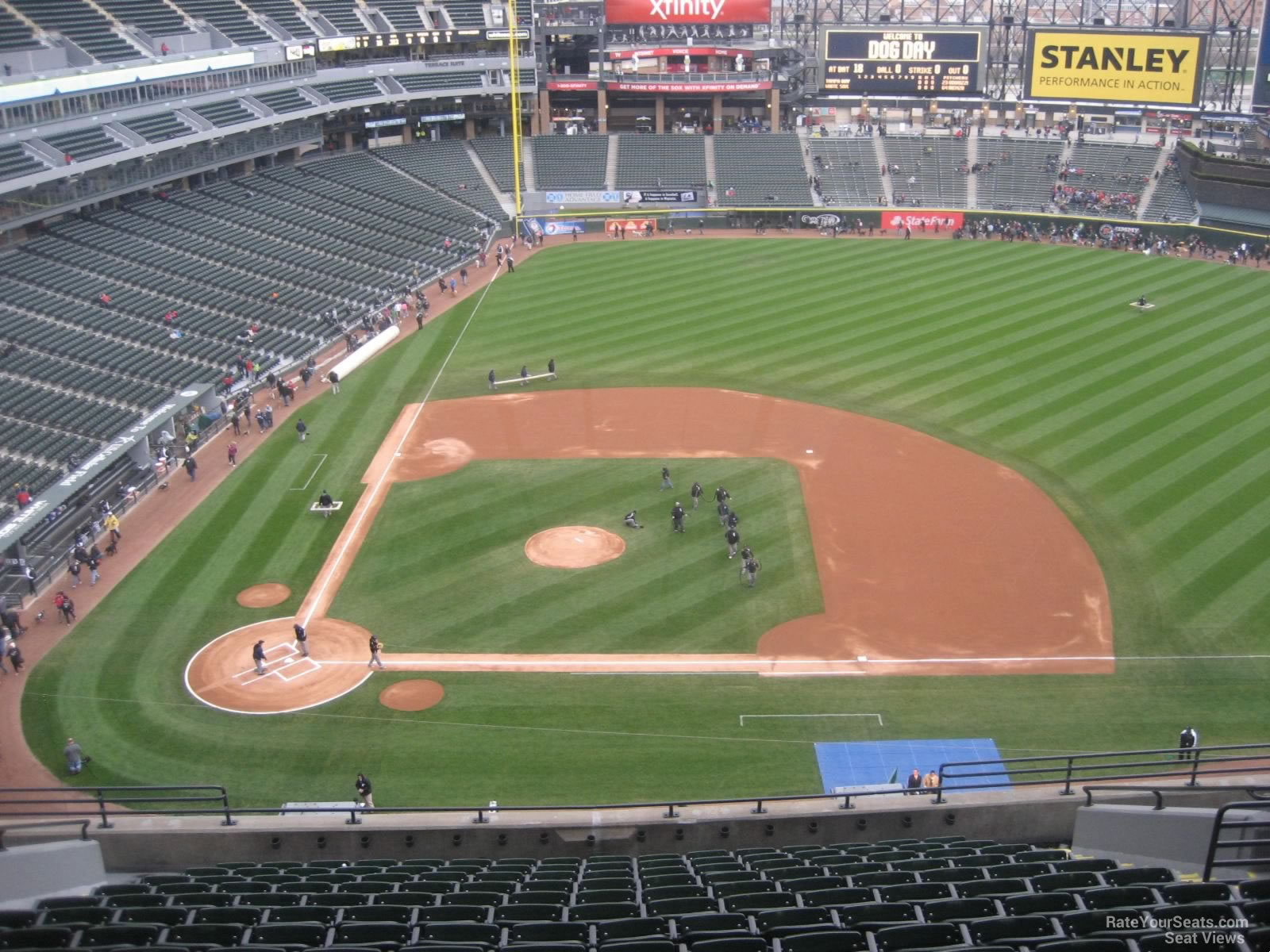 Guaranteed Rate Field Section 526