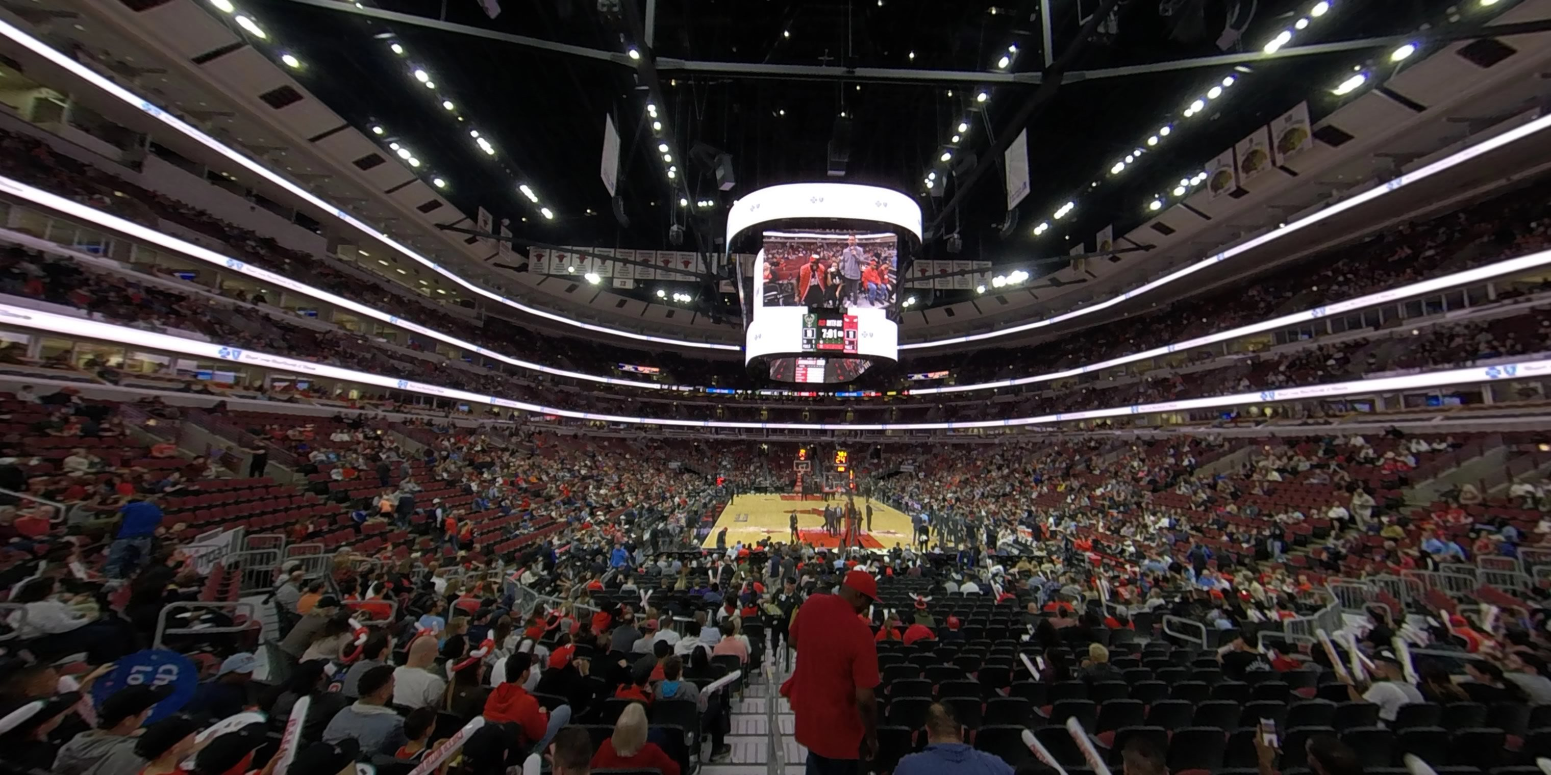 360° Photo From United Center Section 107