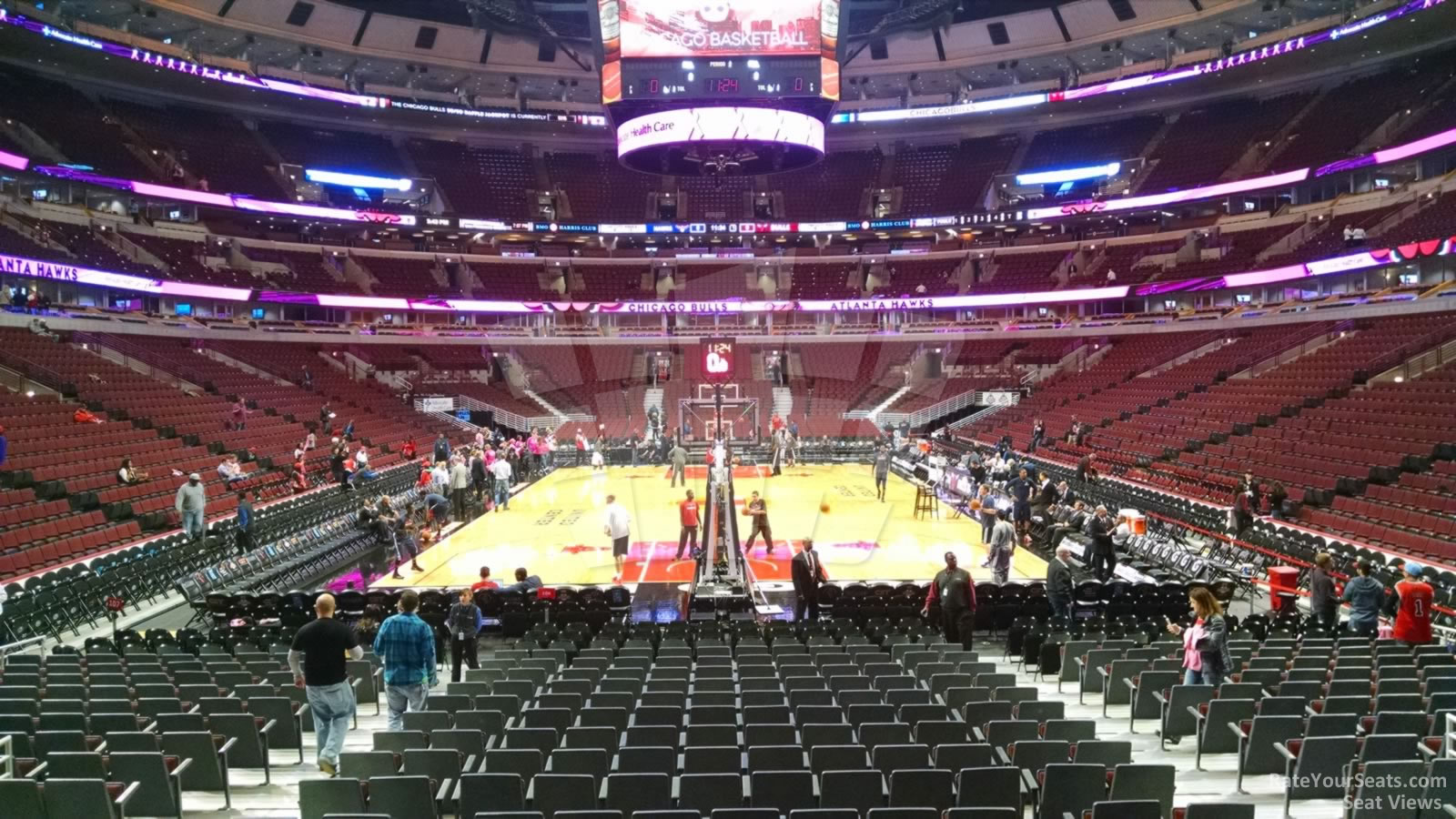 United Center Section 106 Chicago Bulls Rateyourseats Com