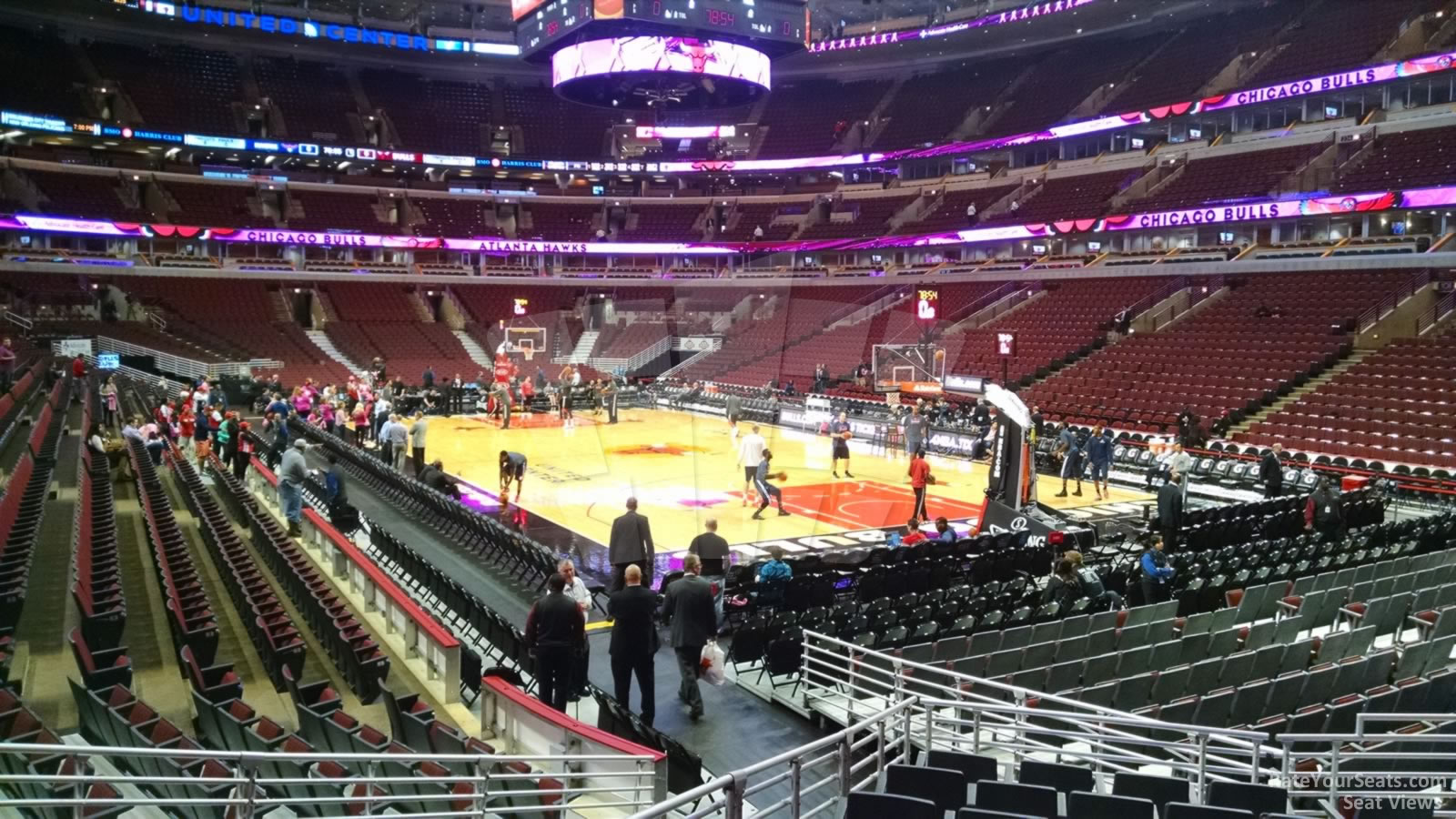 United Center Section 108 Chicago Bulls Rateyourseats Com