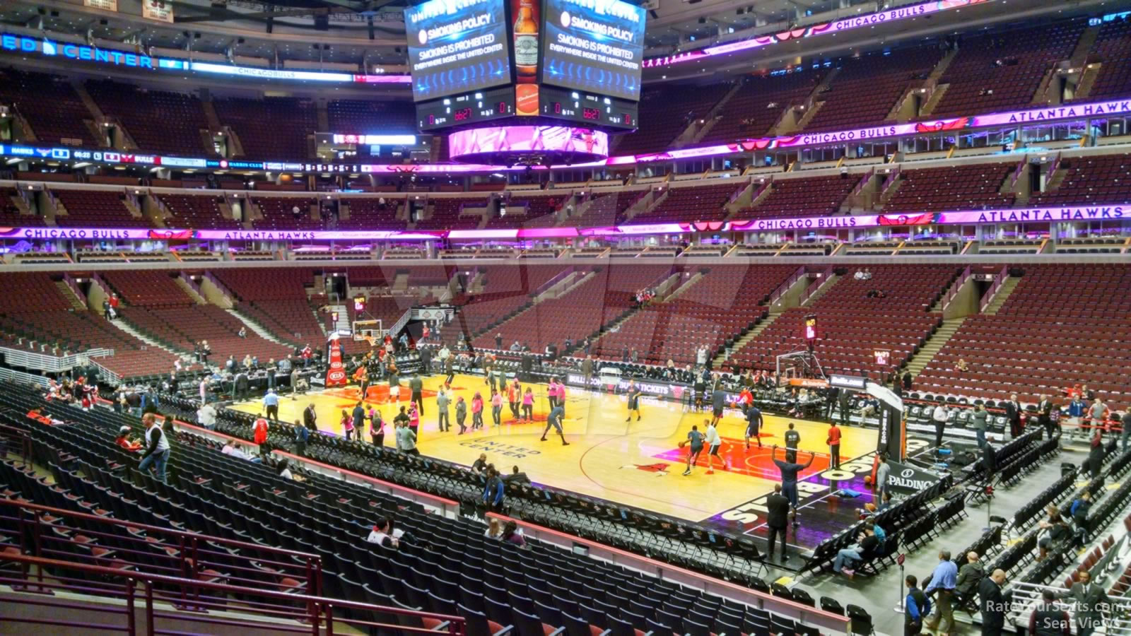 United Center Section 109 Chicago Bulls Rateyourseats Com