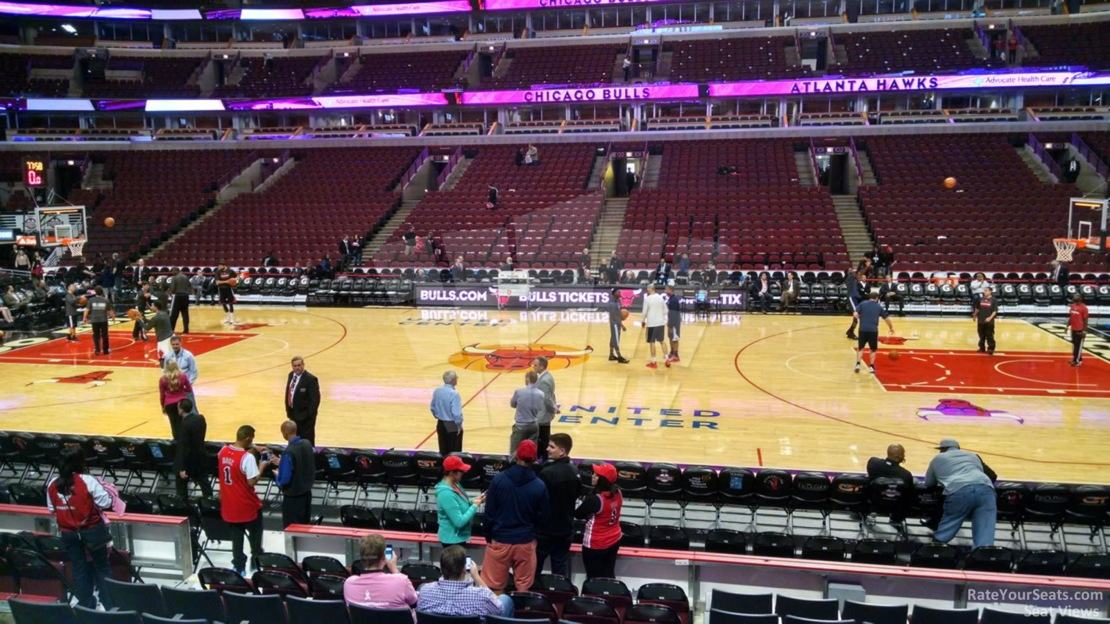 Chicago Bulls - United Center Section 111 - RateYourSeats.com