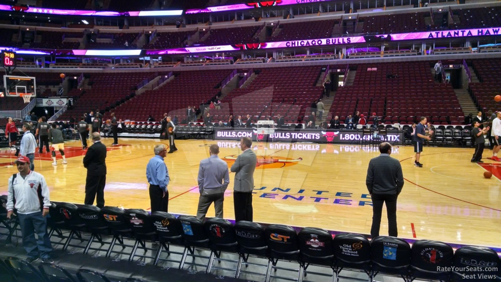Chicago Bulls United Center Section 111 Rateyourseats Com