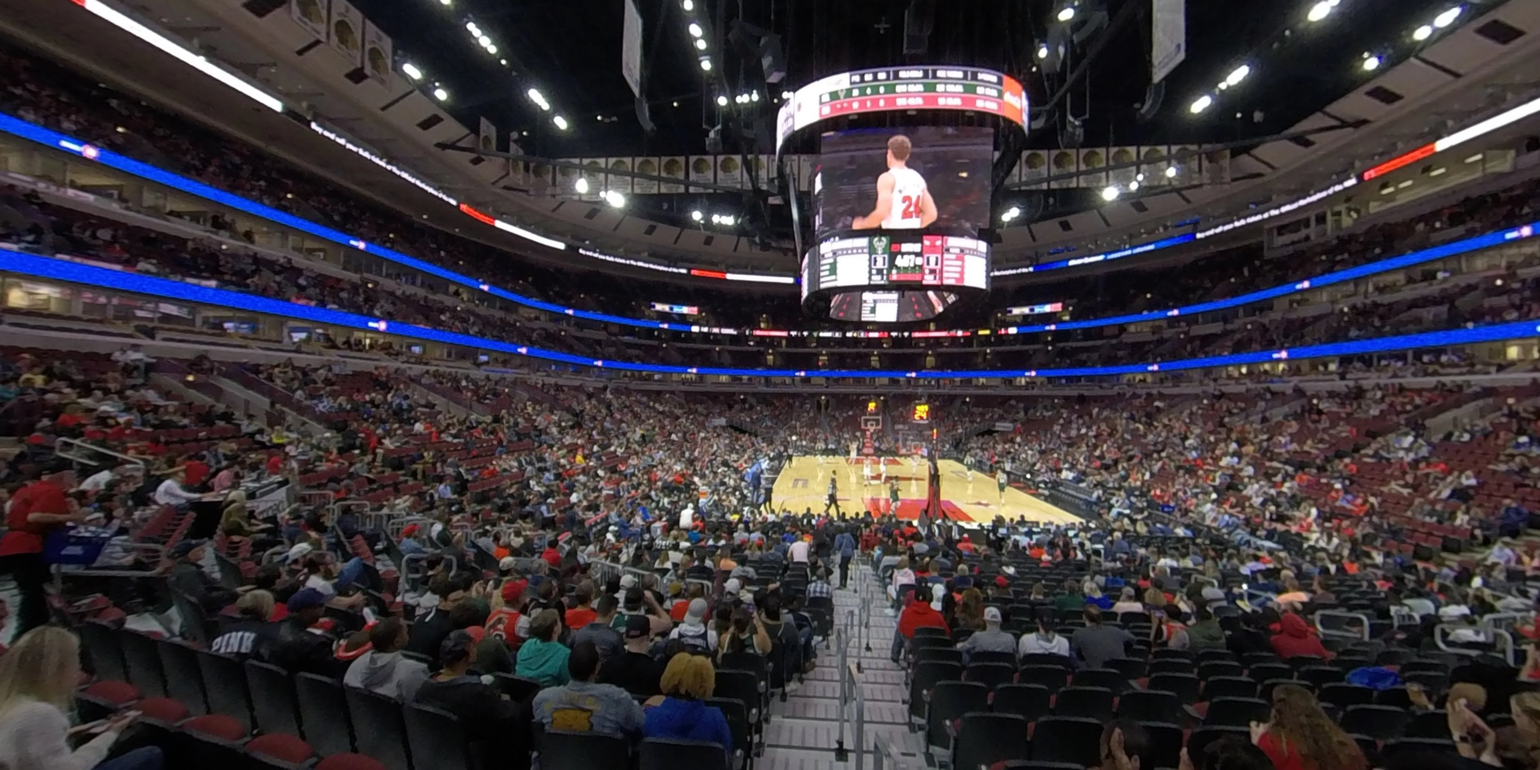 360° Photo From United Center Section 118