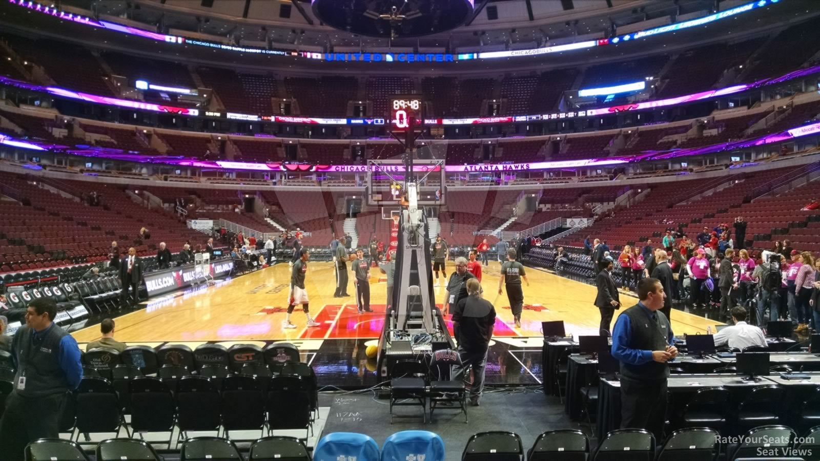 Chicago Bulls - United Center Section 117 - RateYourSeats.com