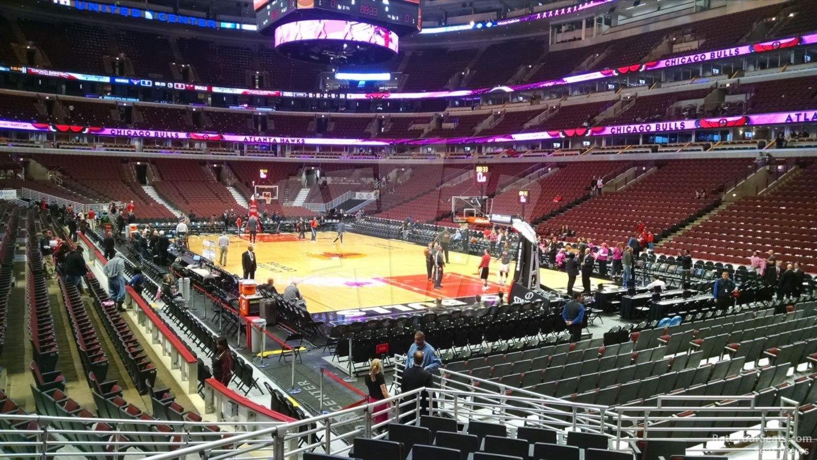 United Center Section 119 Chicago Bulls Rateyourseats Com