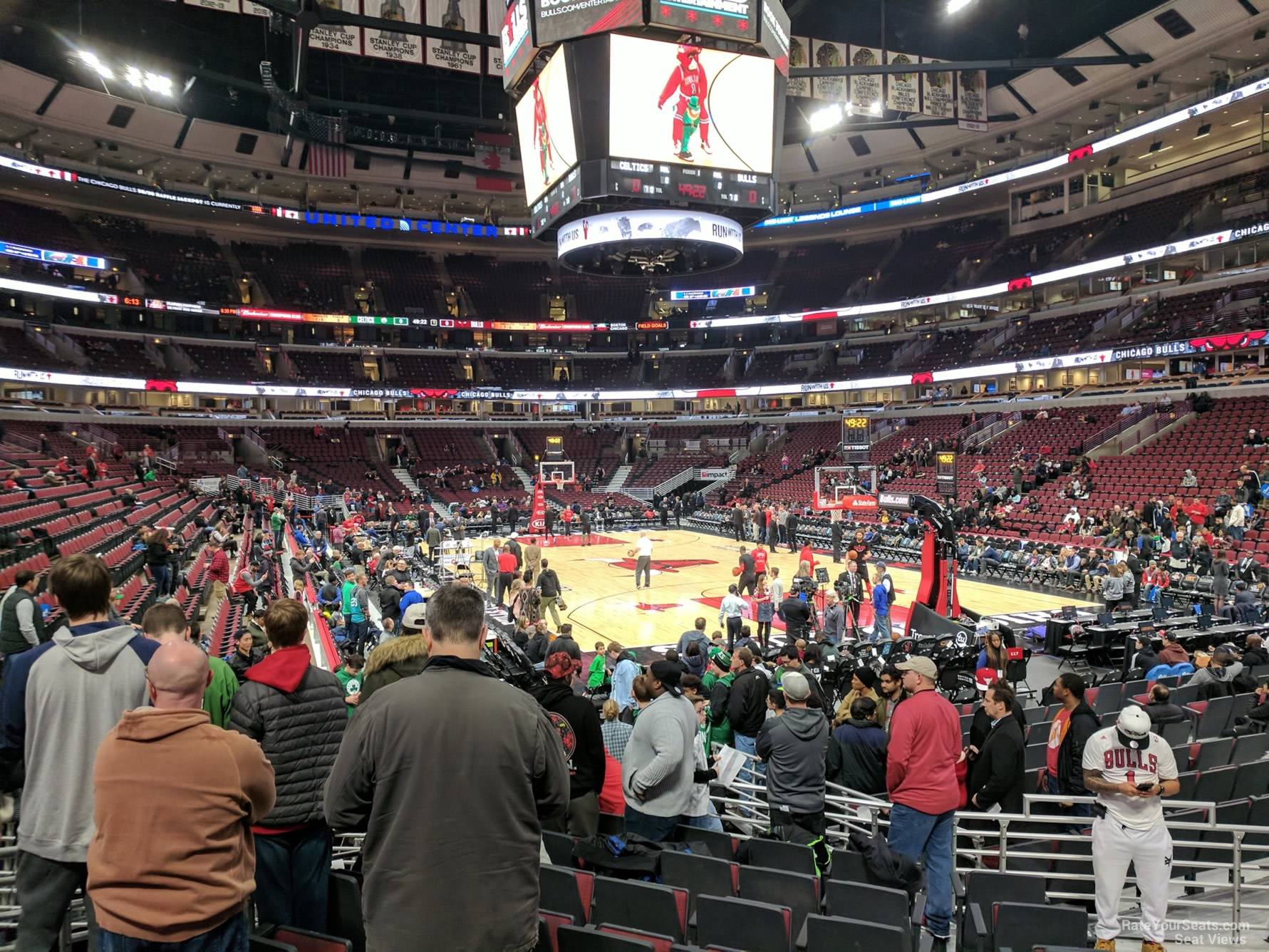 Exterior: United Center Section 119