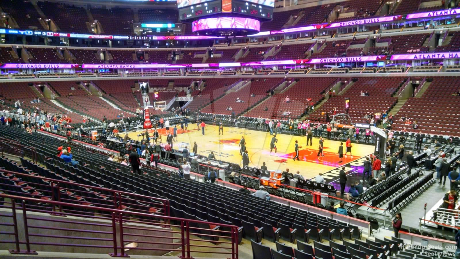 United Center Section 120 Chicago Bulls Rateyourseats Com