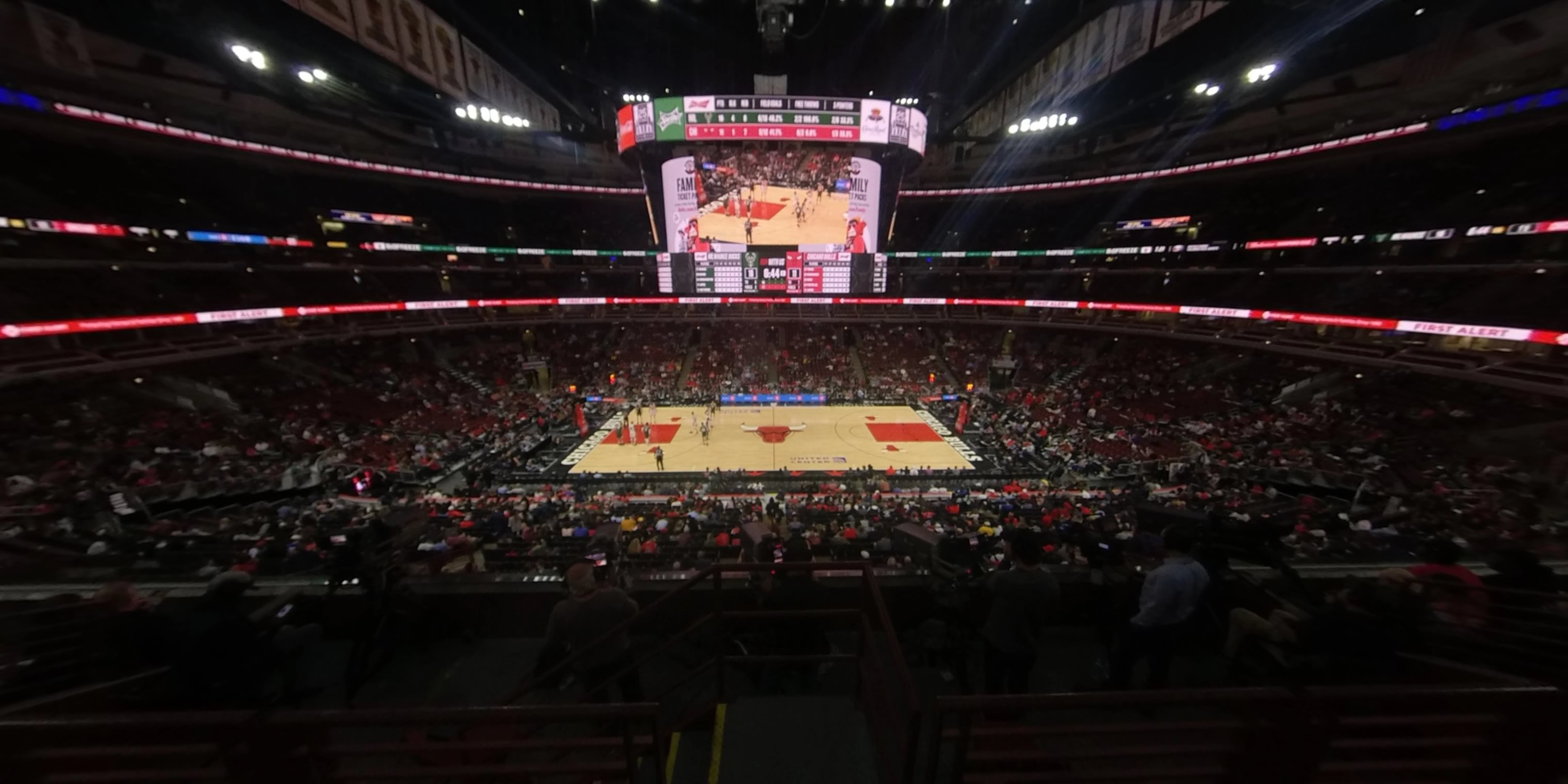 360° Photo From United Center Section 217