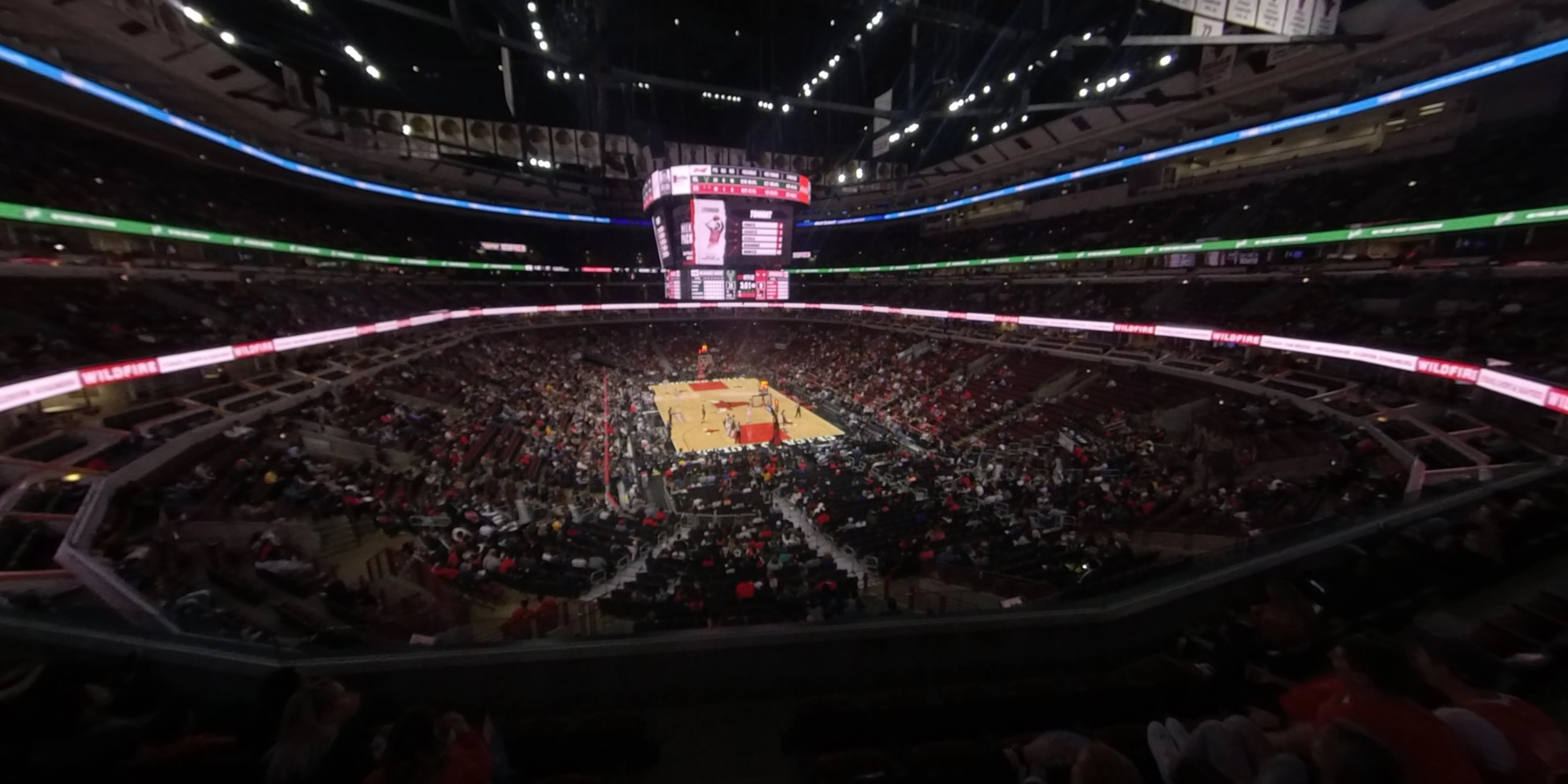 360° Photo From United Center Section 227