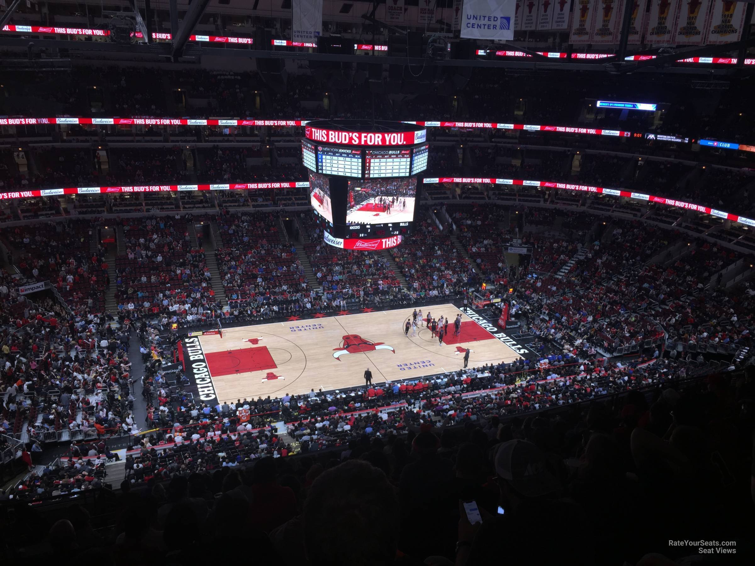 Exterior: United Center Section 302