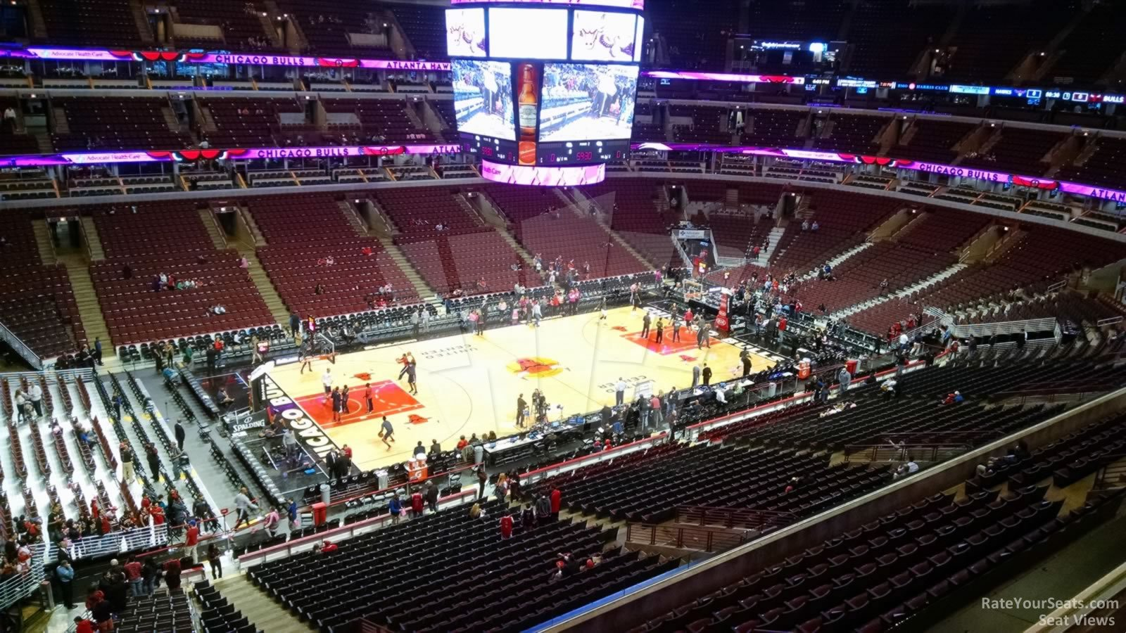 Exterior: United Center Section 303