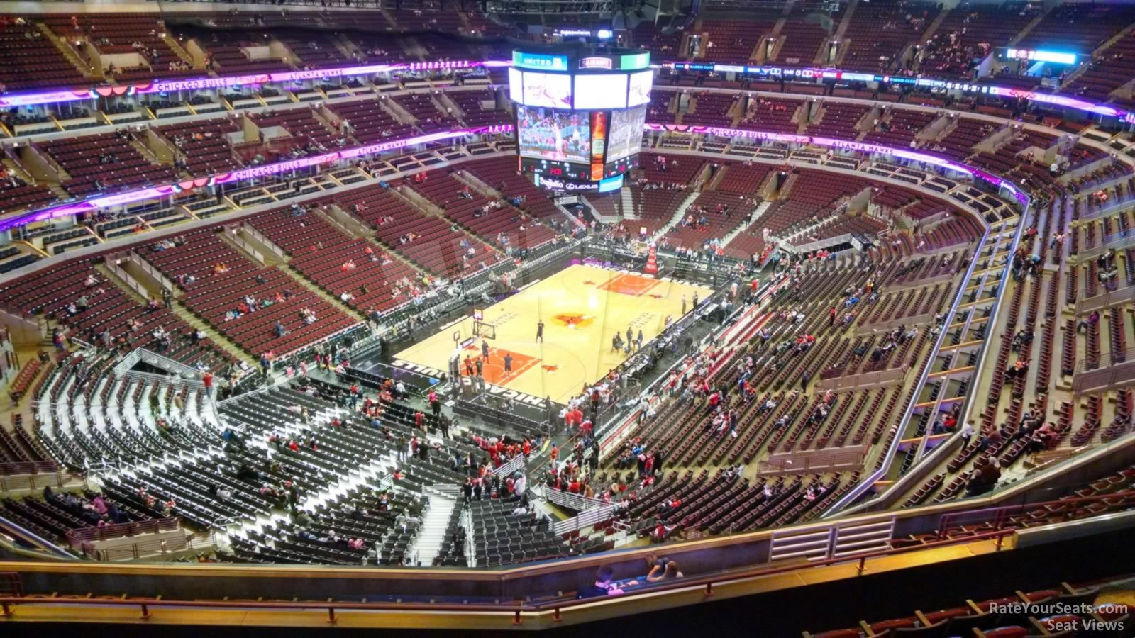 Exterior: United Center Section 306