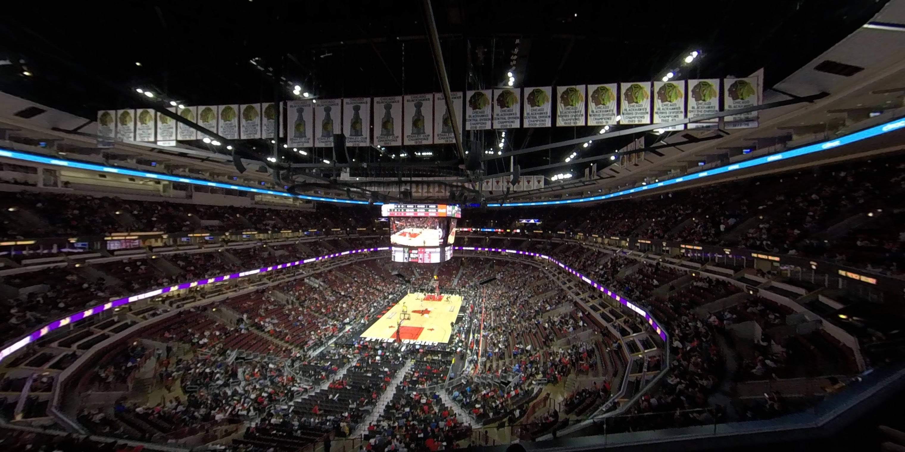 360° Photo From United Center Section 308