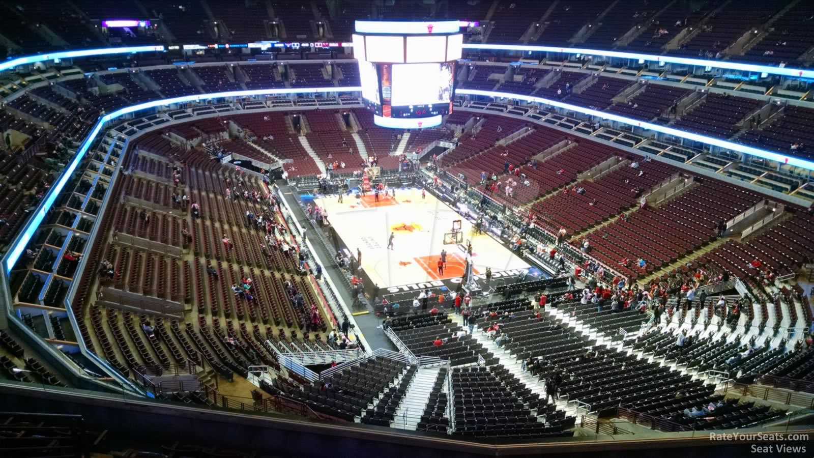 Exterior: United Center Section 311