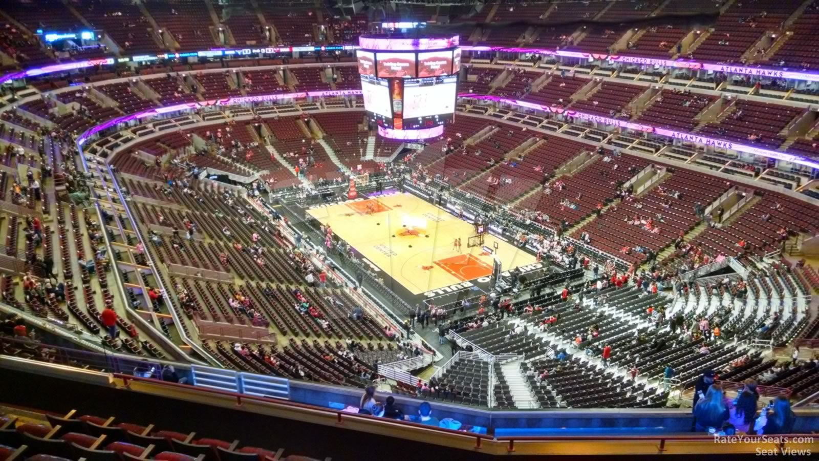 united center section 312 chicago bulls rateyourseats com