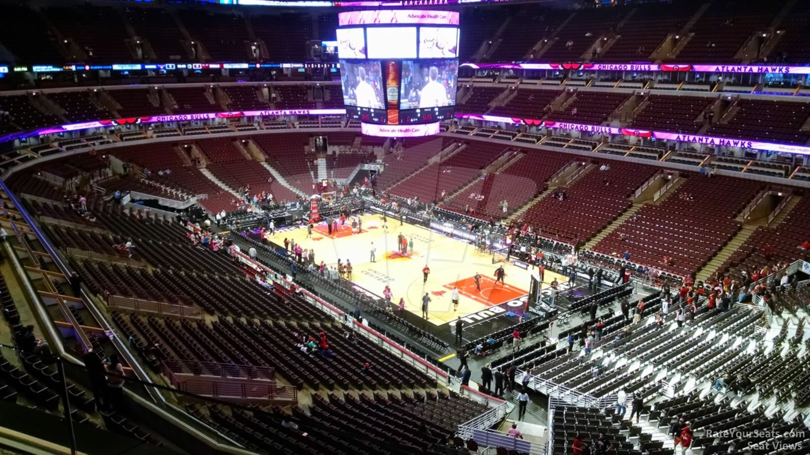 United Center Section 313 Chicago Bulls Rateyourseats Com