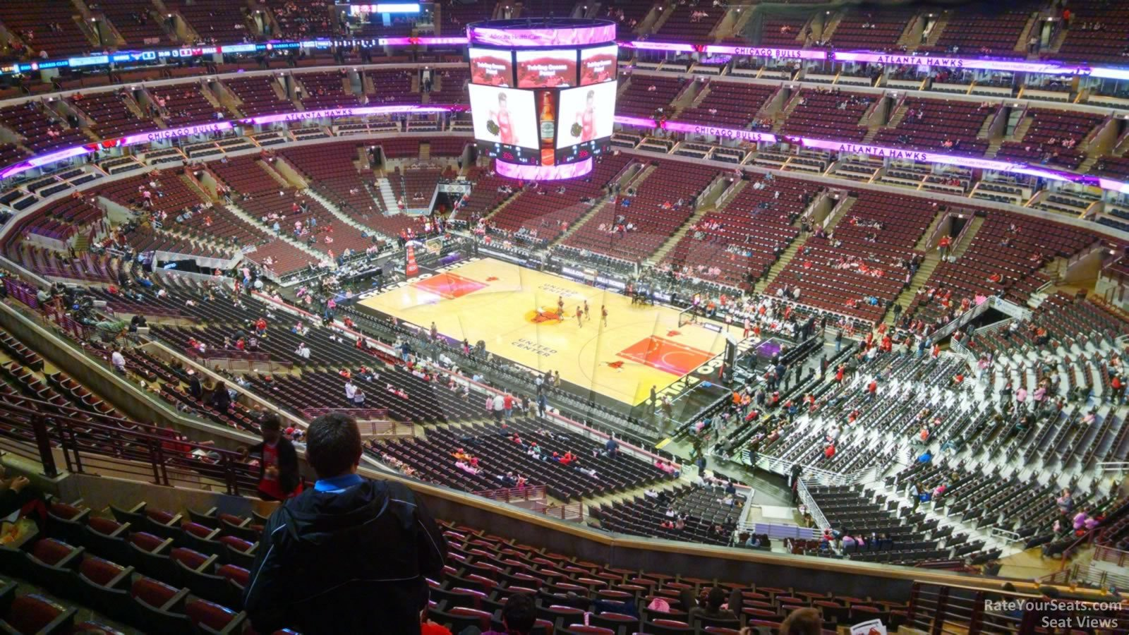 Exterior: United Center Section 314